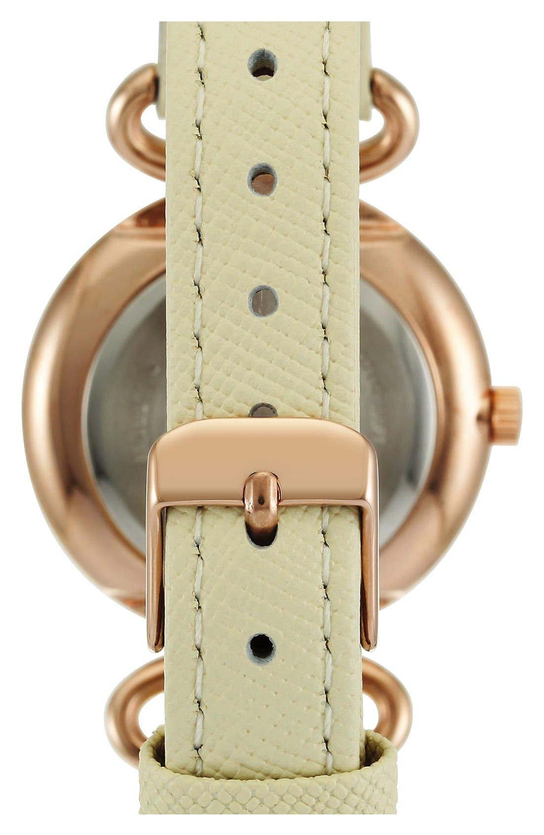 Leather Strap Watch, 32mm,                             Alternate thumbnail 9, color,