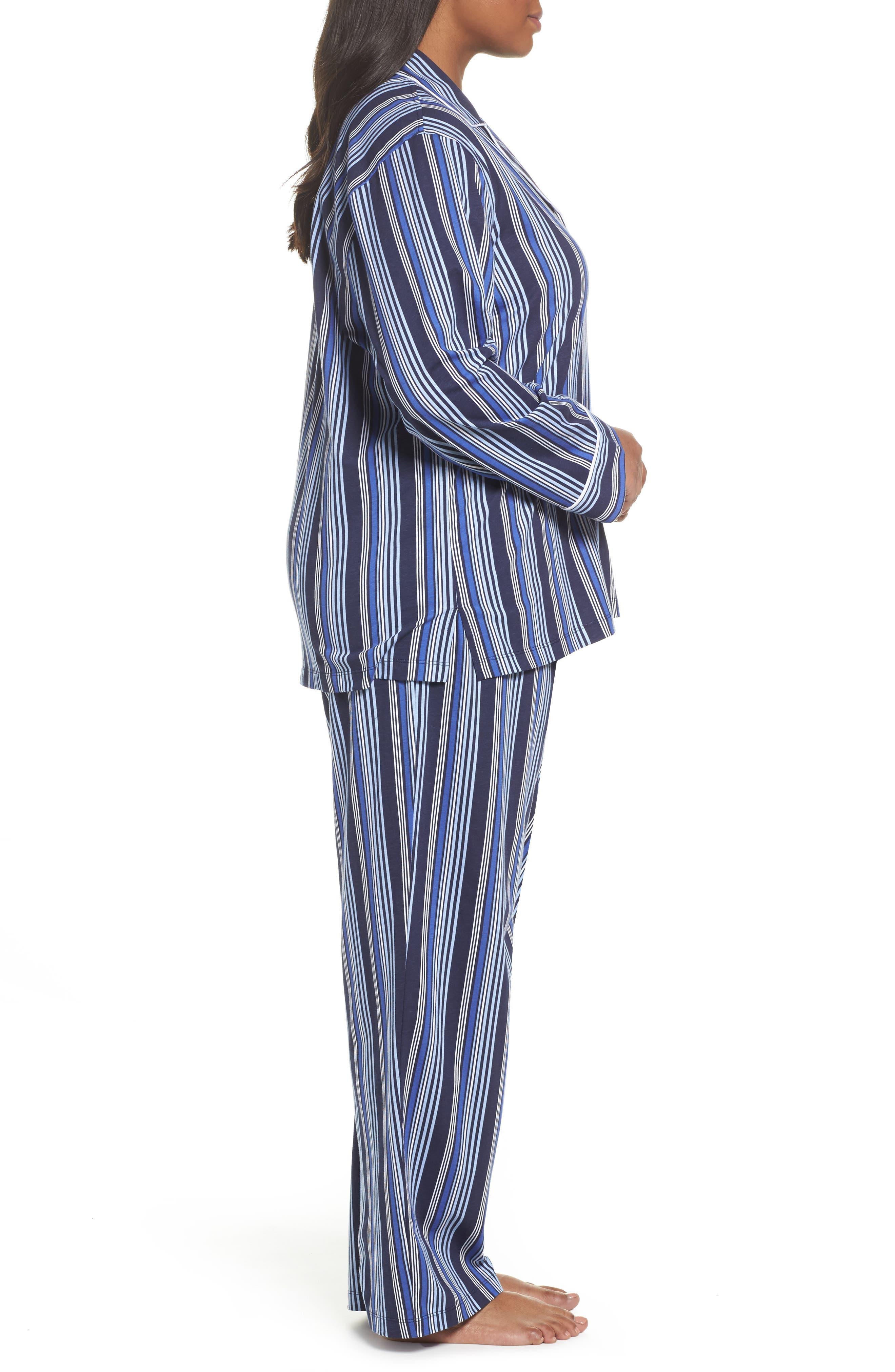 Stripe Pajamas,                             Alternate thumbnail 3, color,                             486