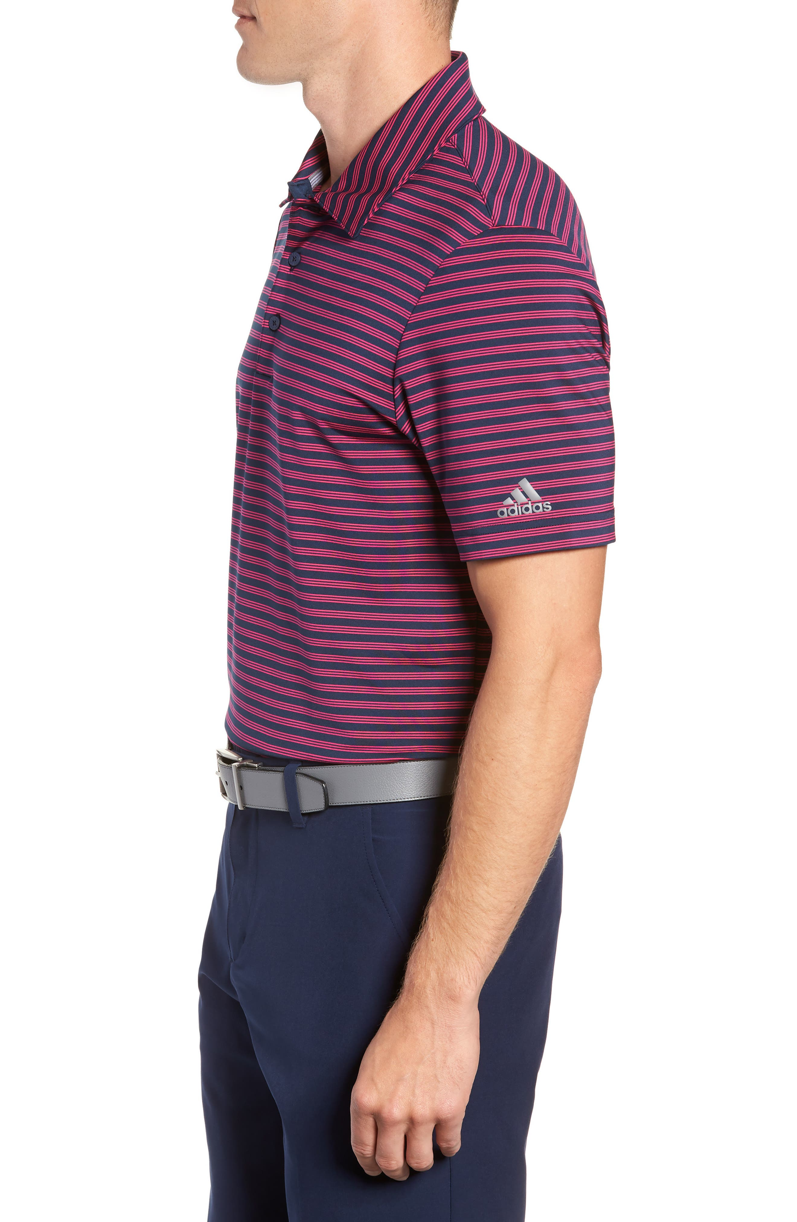 adidas Essentials Ultimate 365 Regular Fit Polo,                             Alternate thumbnail 3, color,                             650