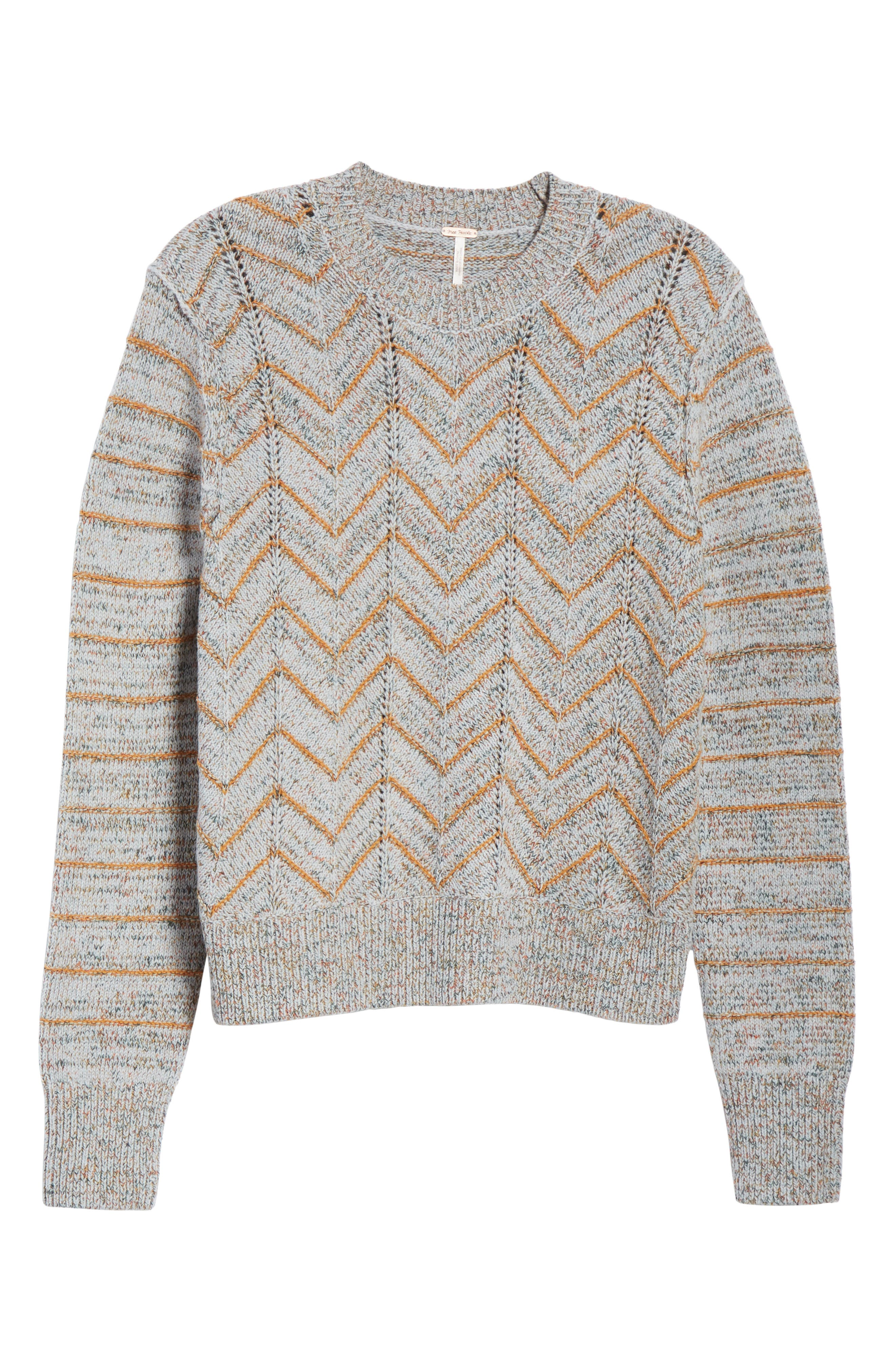Zigzag Pullover,                             Alternate thumbnail 6, color,                             455