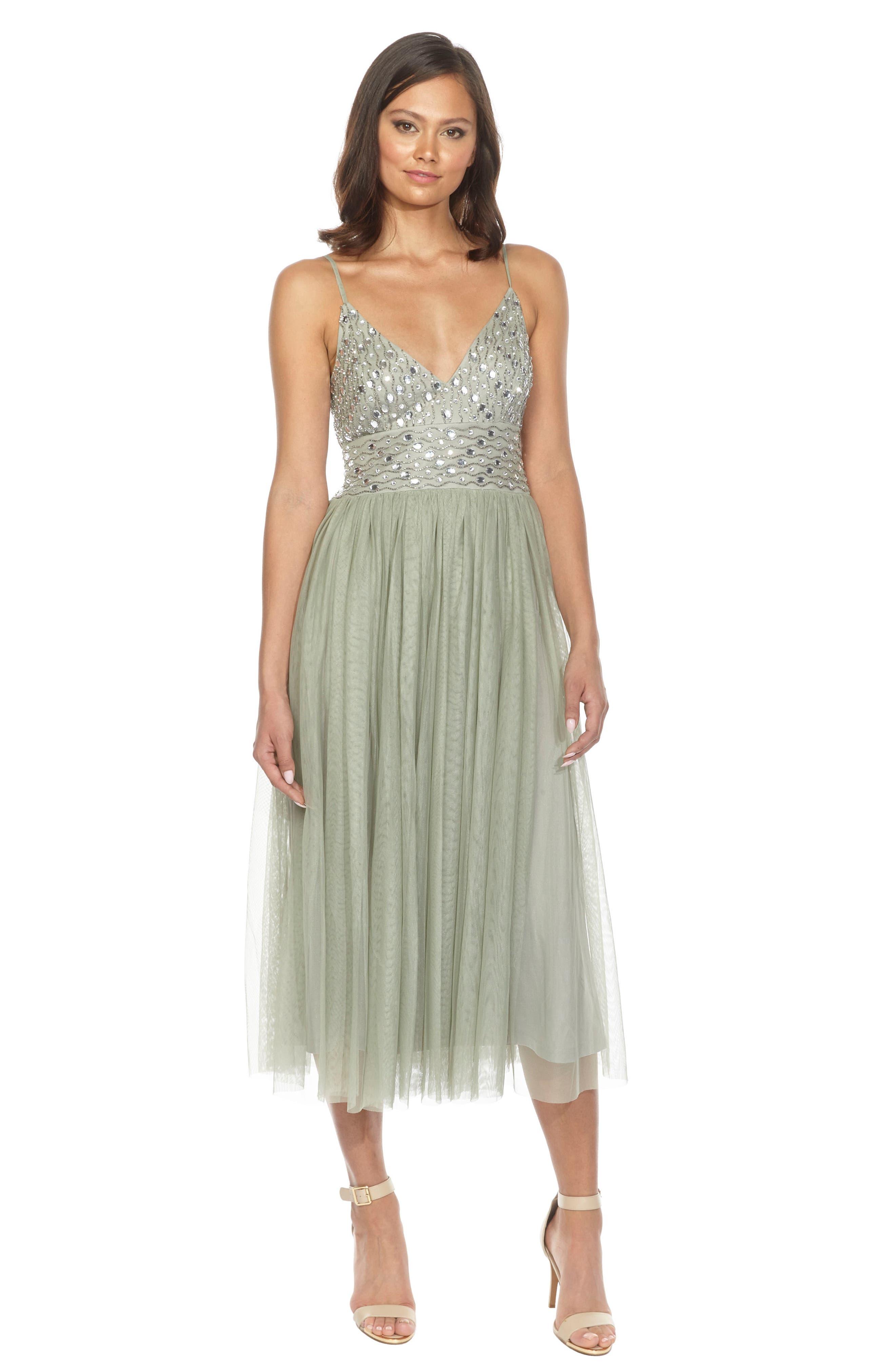 Maeve Beaded Maxi Dress,                             Alternate thumbnail 6, color,                             330
