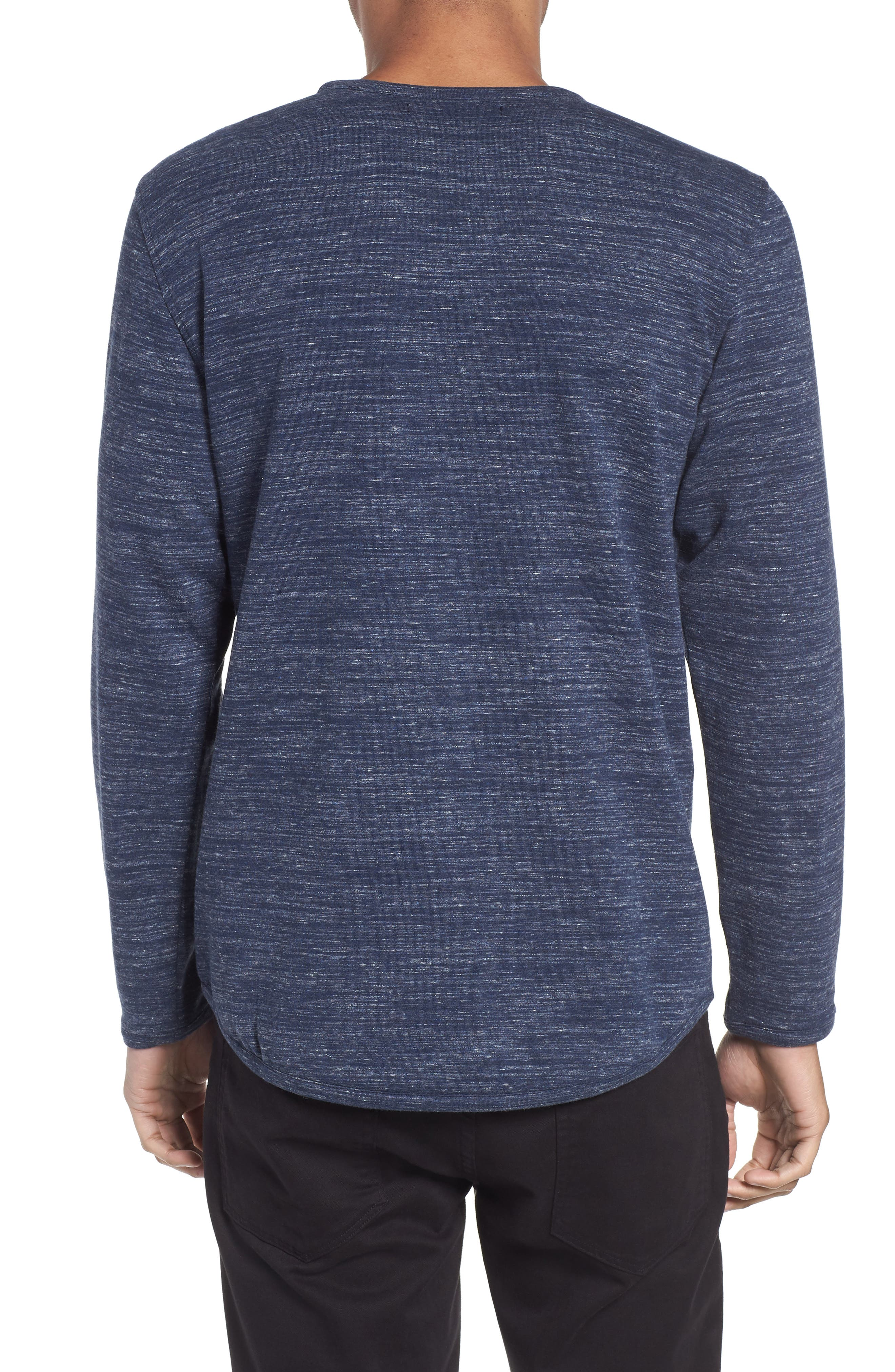Long Sleeve T-Shirt,                             Alternate thumbnail 4, color,