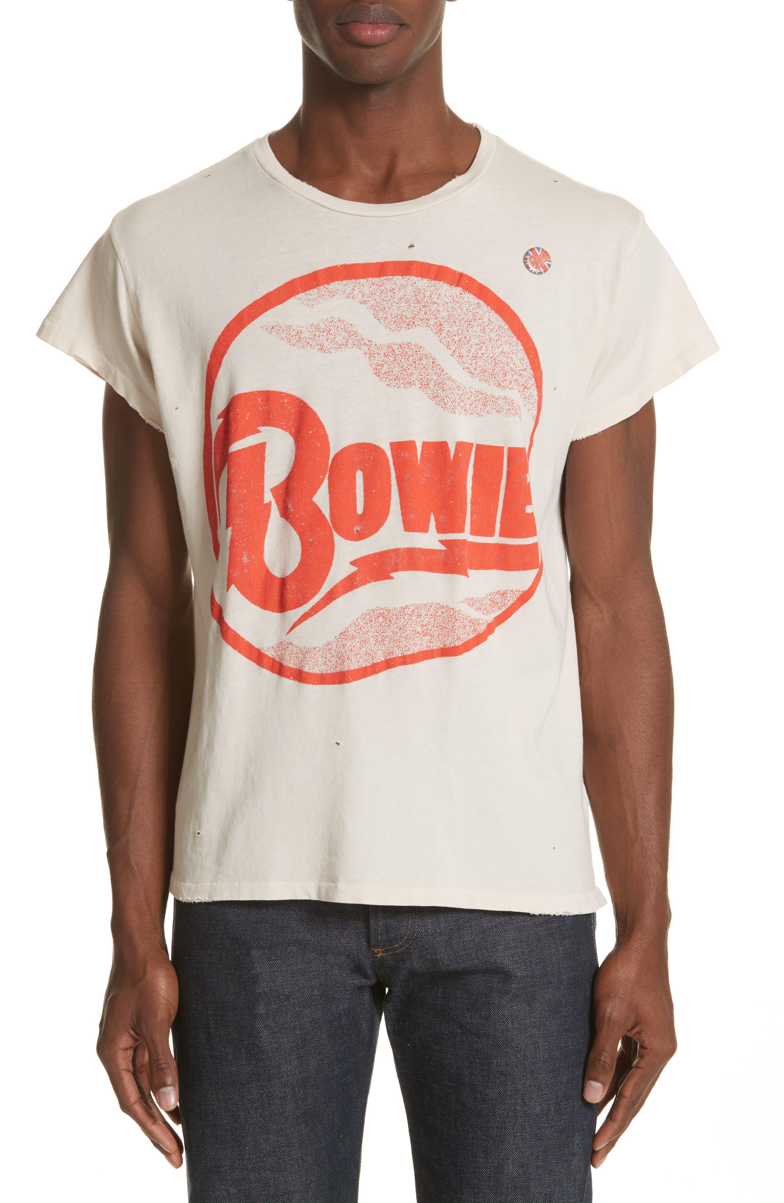 David Bowie Graphic T-Shirt,                             Main thumbnail 1, color,                             100