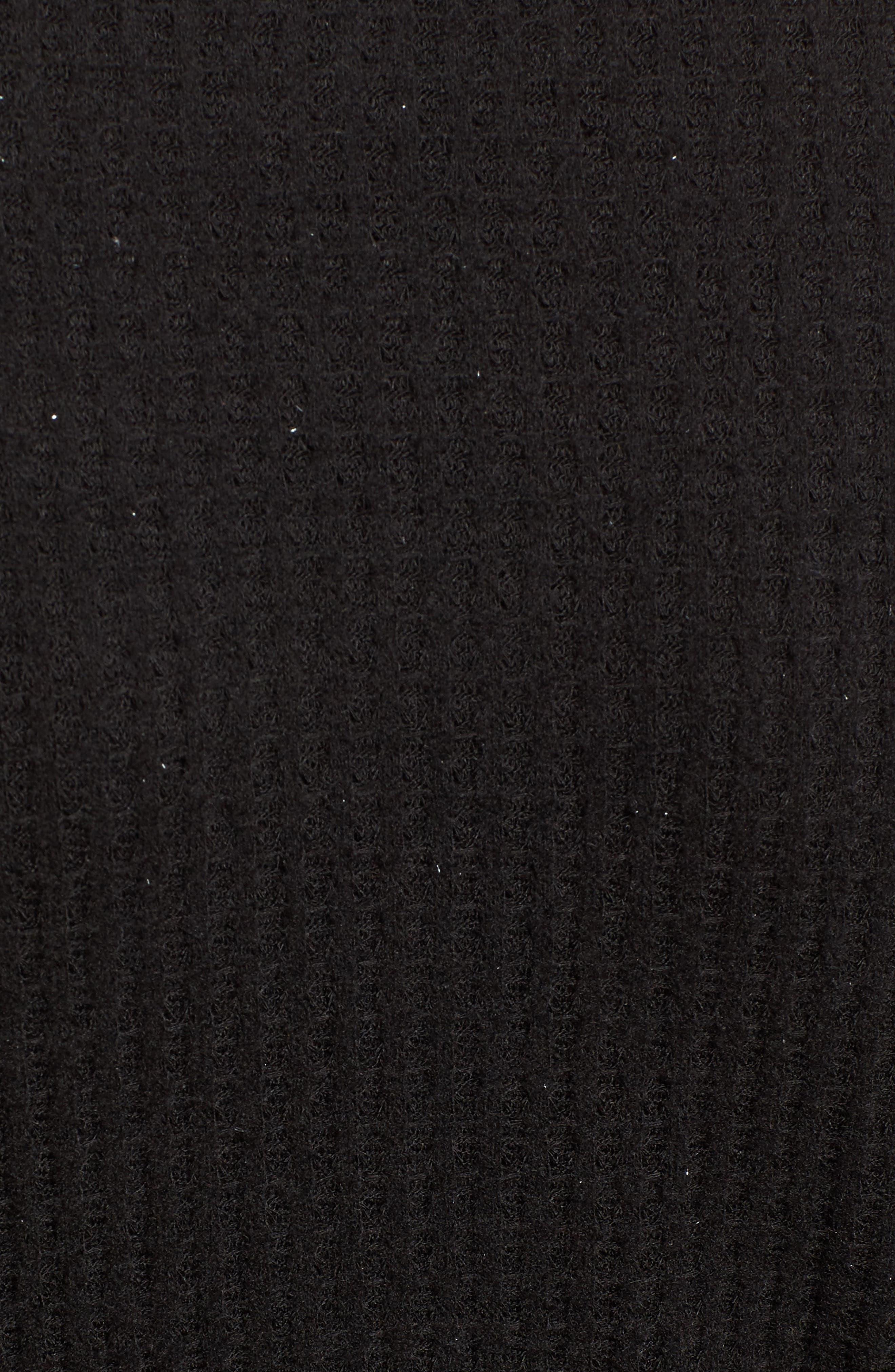 Wrap Sweater,                             Alternate thumbnail 5, color,                             001