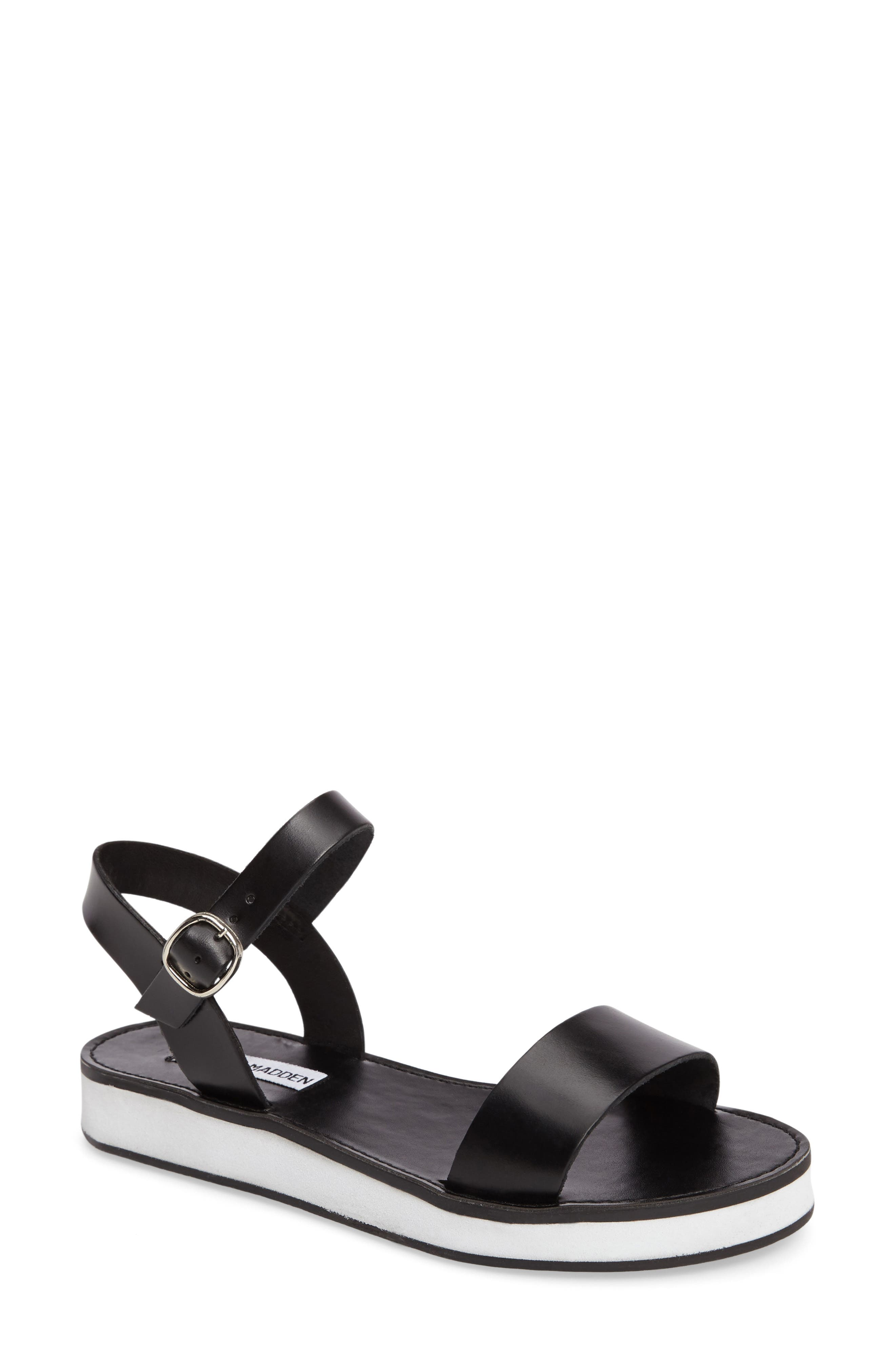 Deluxe Sandal,                         Main,                         color, 001