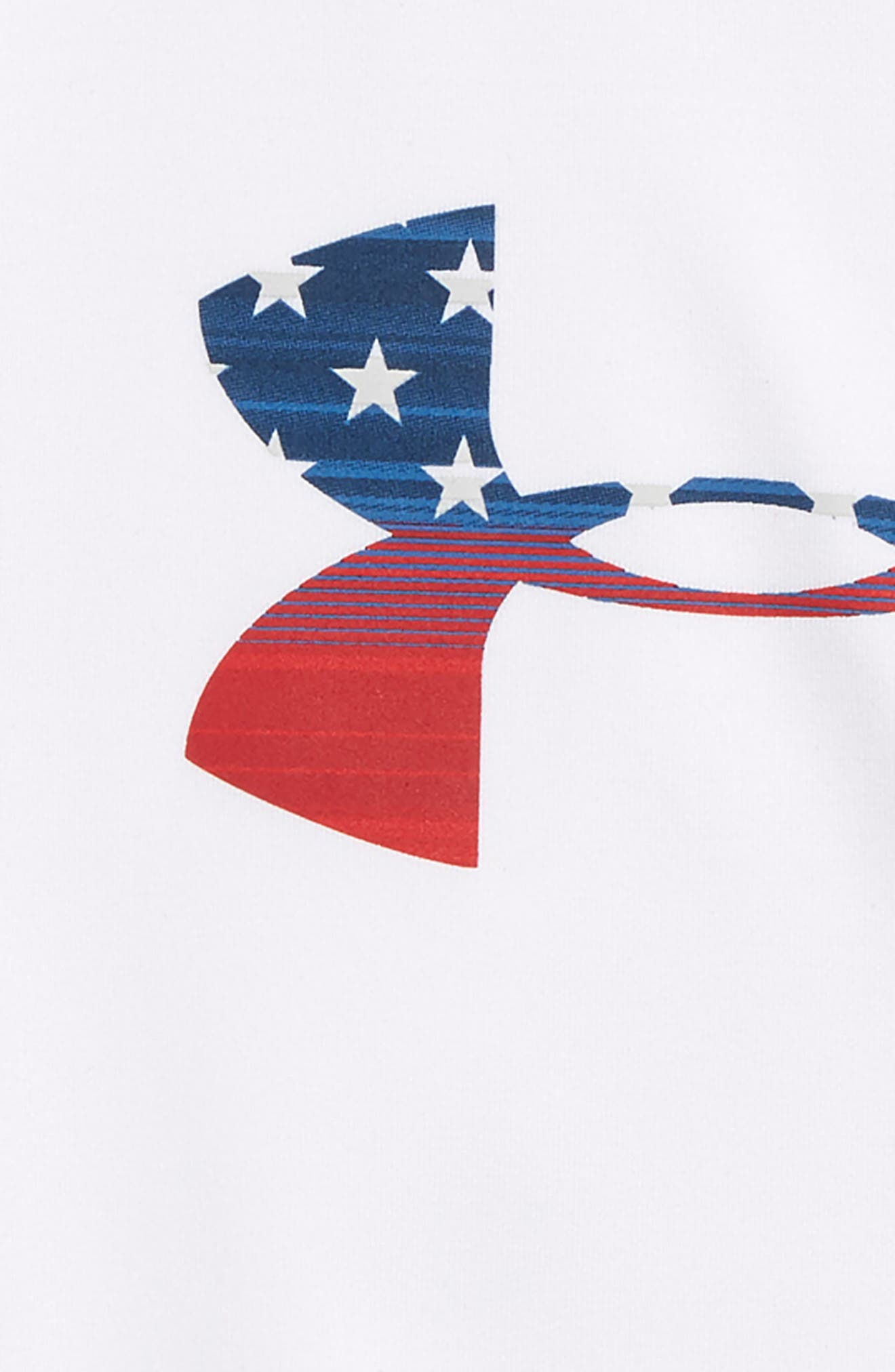 Stars & Stripes Logo Graphic T-Shirt,                             Alternate thumbnail 2, color,                             100