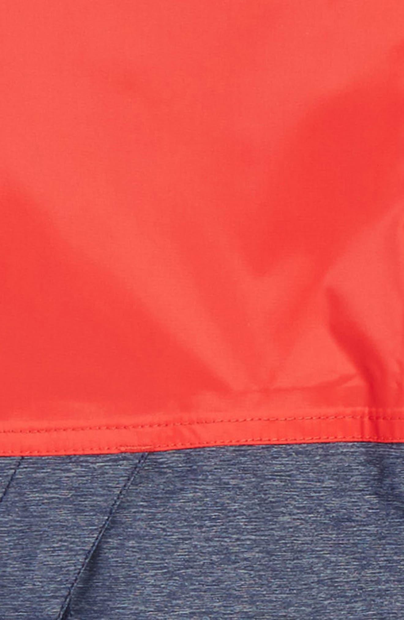 Warm Storm Hooded Waterproof Jacket,                             Alternate thumbnail 10, color,
