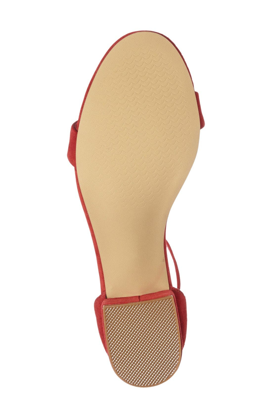 Irenee Ankle Strap Sandal,                             Alternate thumbnail 178, color,