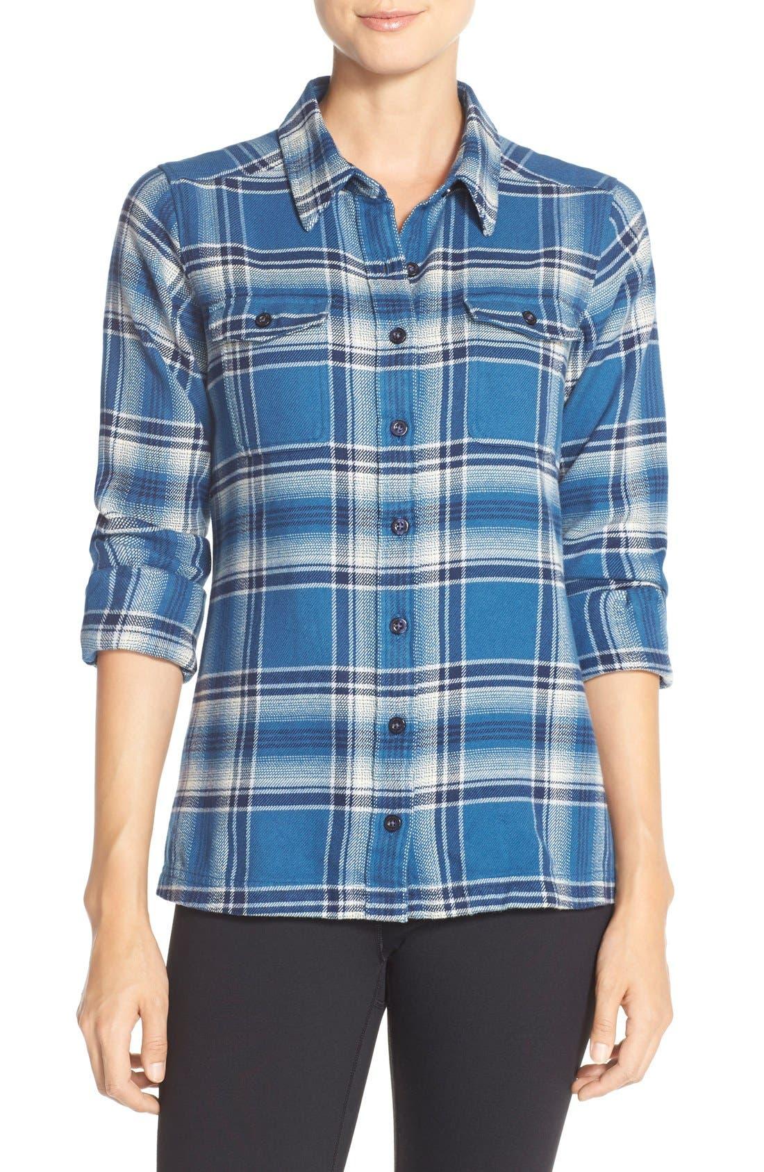 'Fjord' Flannel Shirt,                             Main thumbnail 10, color,