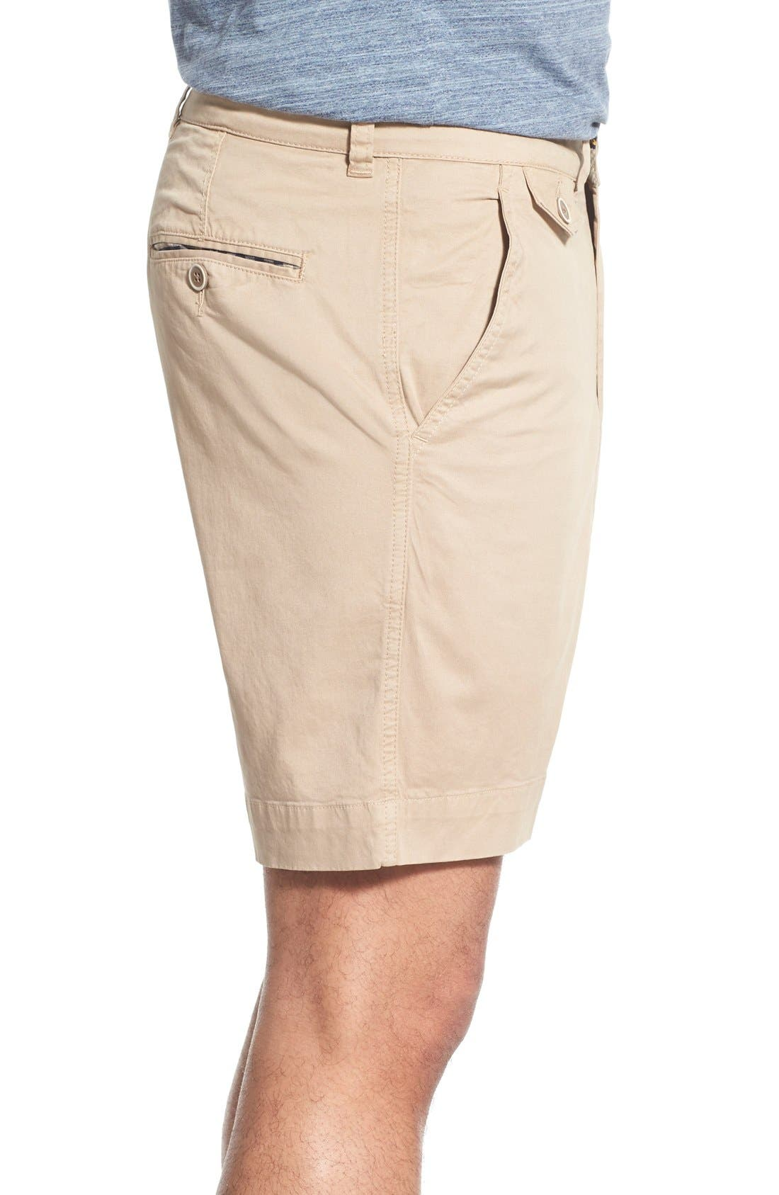'Sunny' Stretch Twill Chino Shorts,                             Alternate thumbnail 18, color,