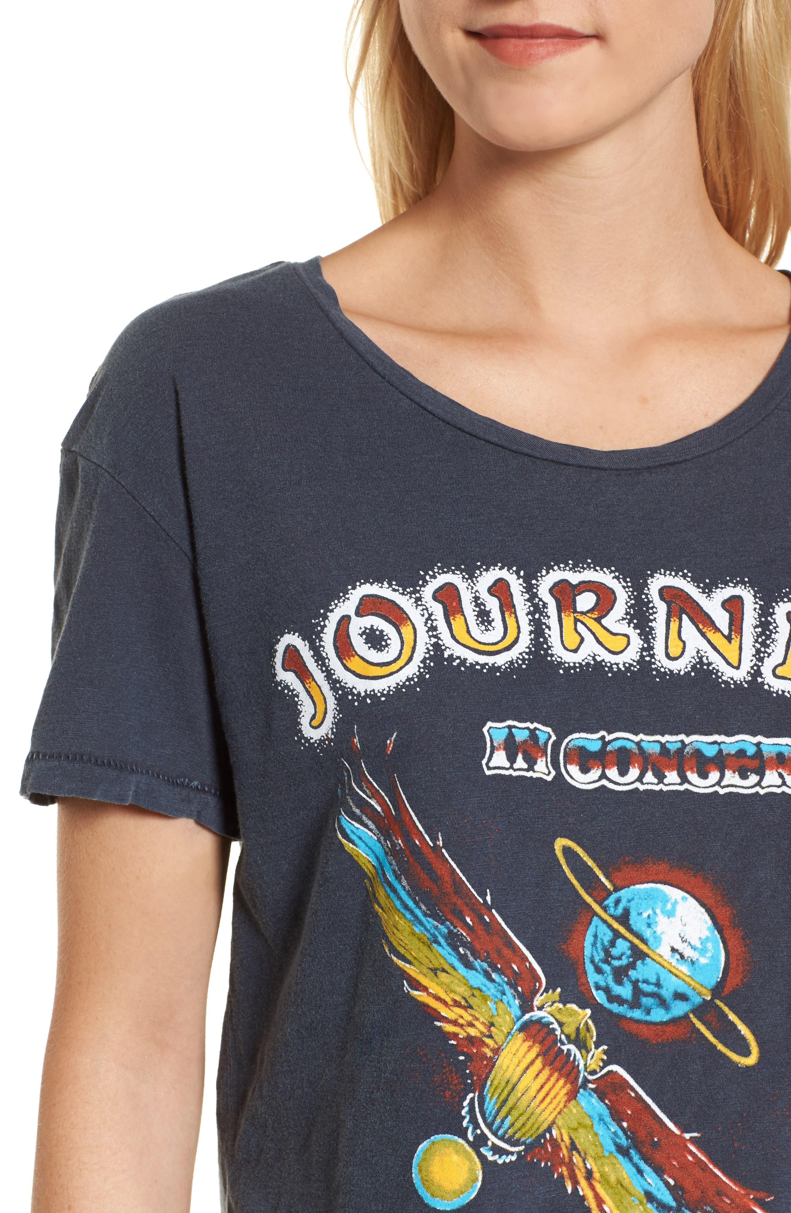Journey Departure Tour Tee,                             Alternate thumbnail 4, color,                             489