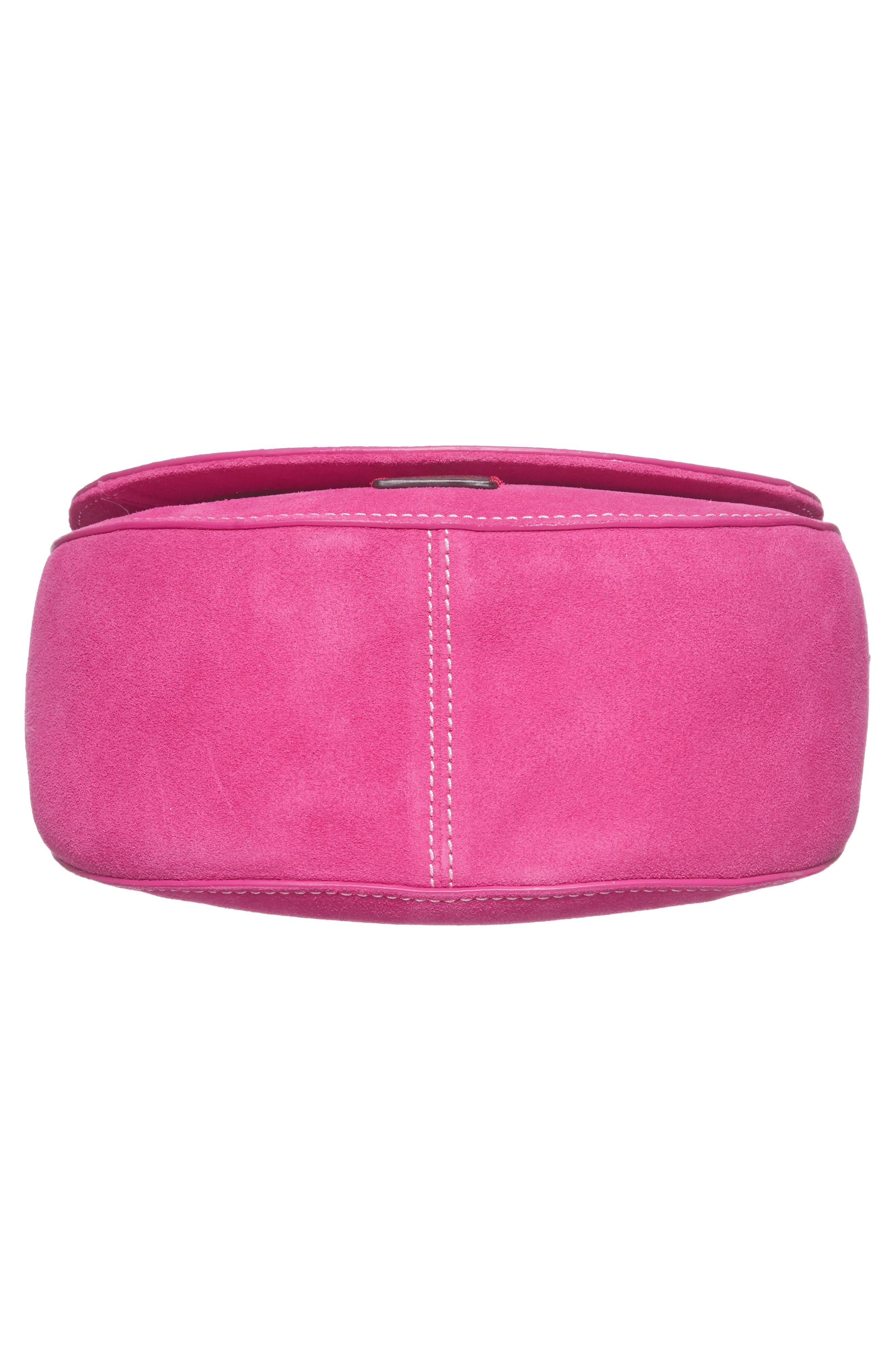Mini Ellen Suede Crossbody Bag,                             Alternate thumbnail 18, color,