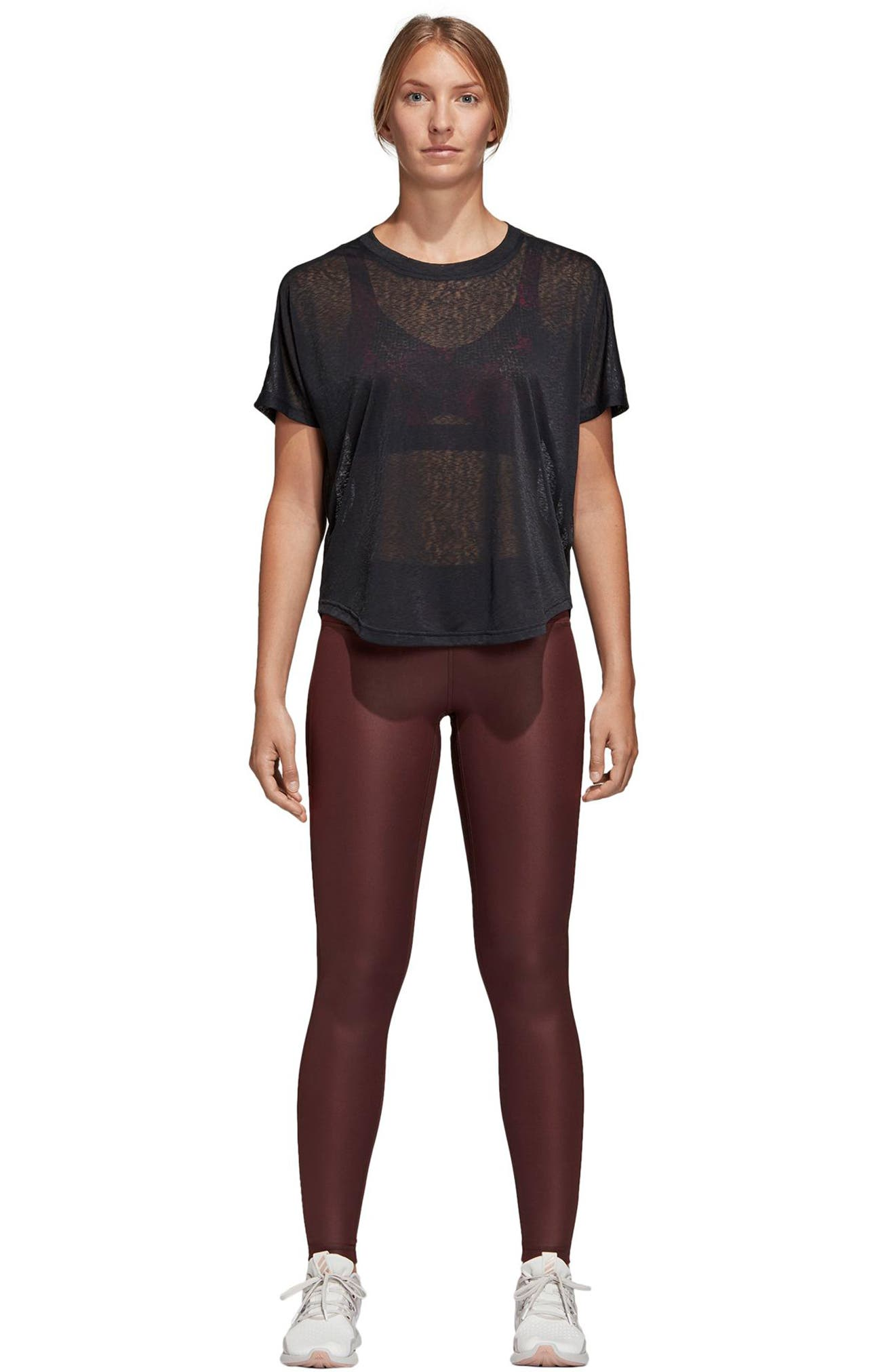 Believe This Leggings,                             Alternate thumbnail 9, color,                             NIGHT RED
