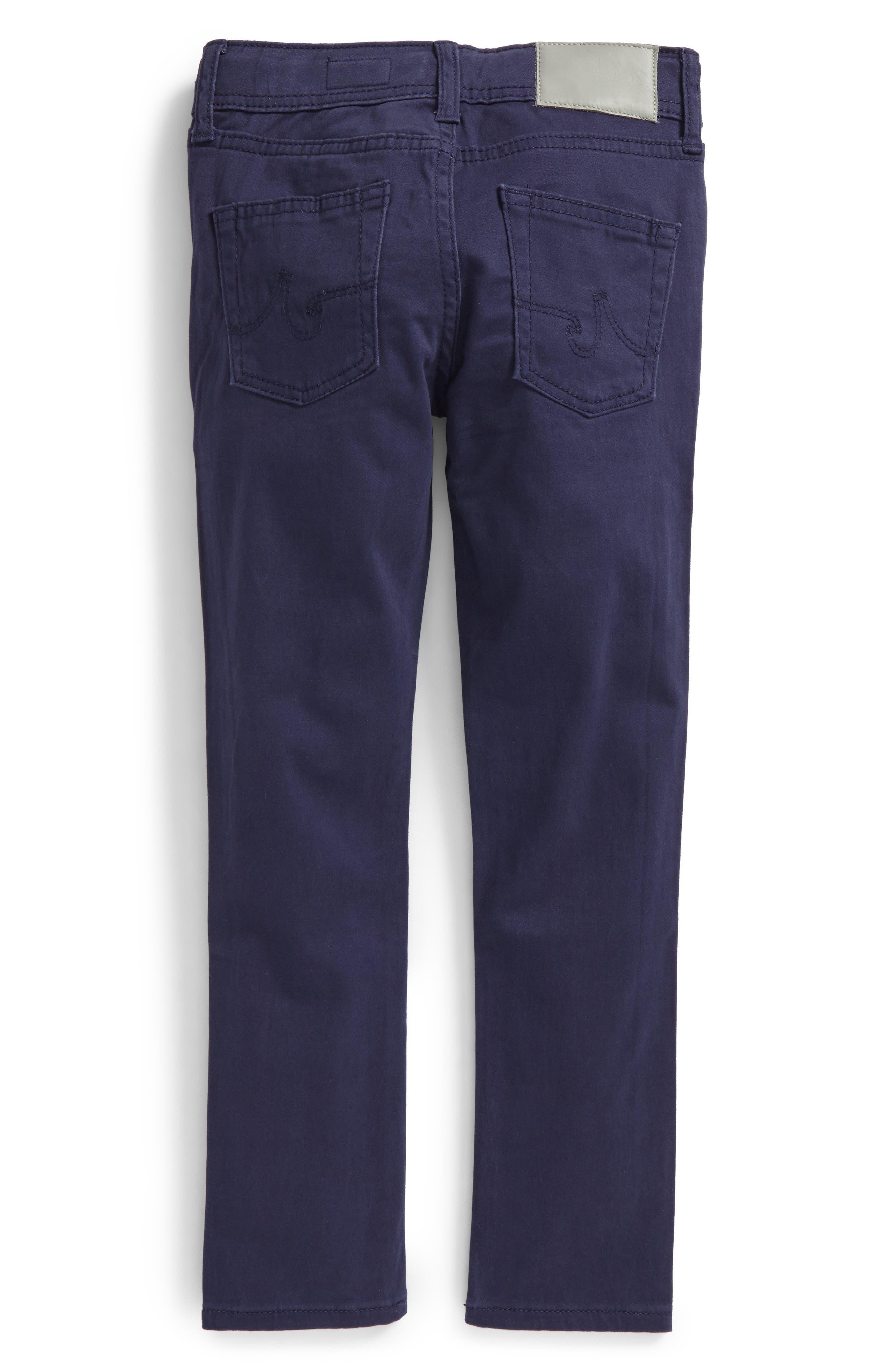 The Kingston Luxe Slim Jeans,                             Alternate thumbnail 5, color,