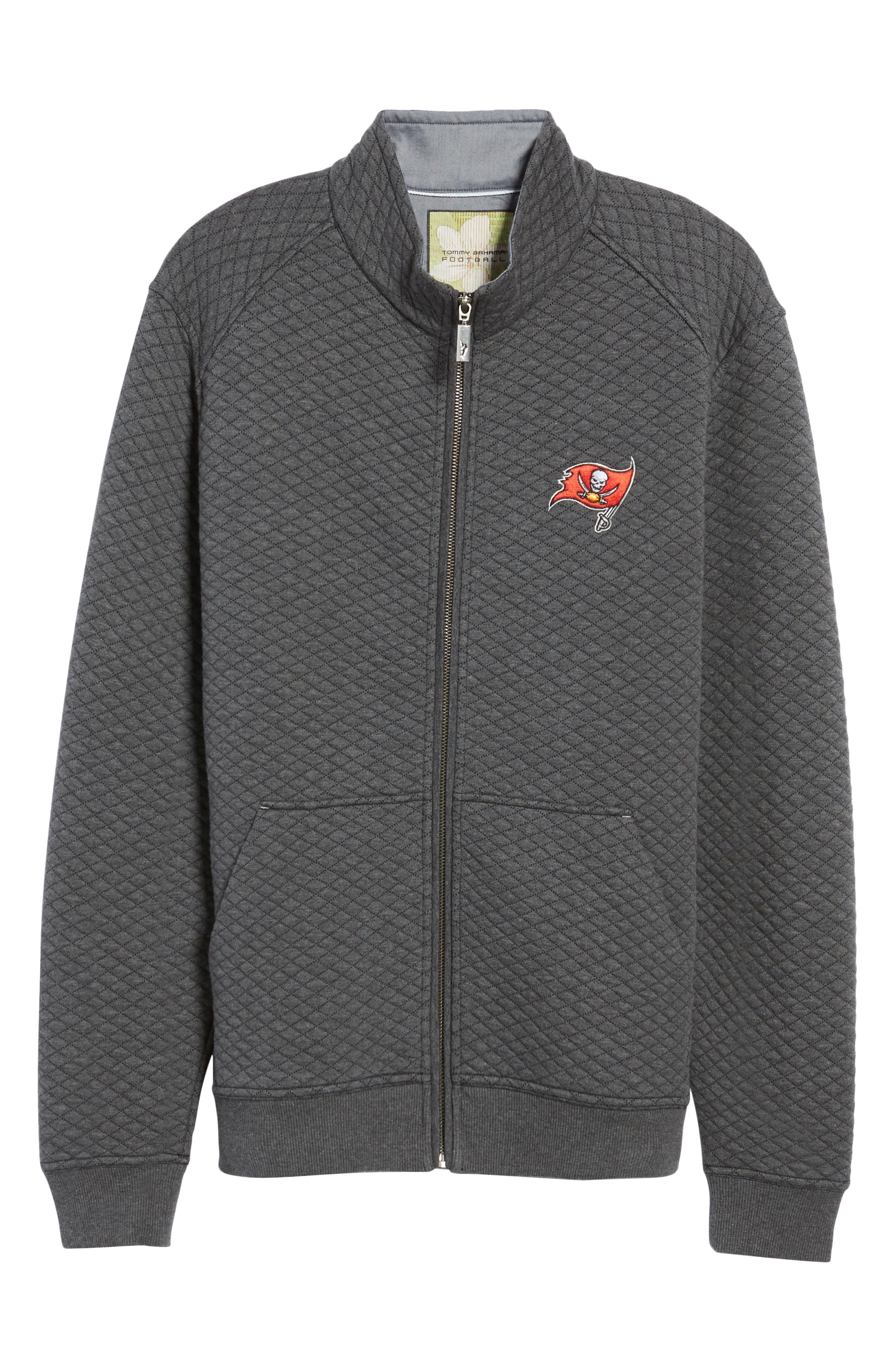 NFL Quiltessential Full Zip Sweatshirt,                             Alternate thumbnail 163, color,