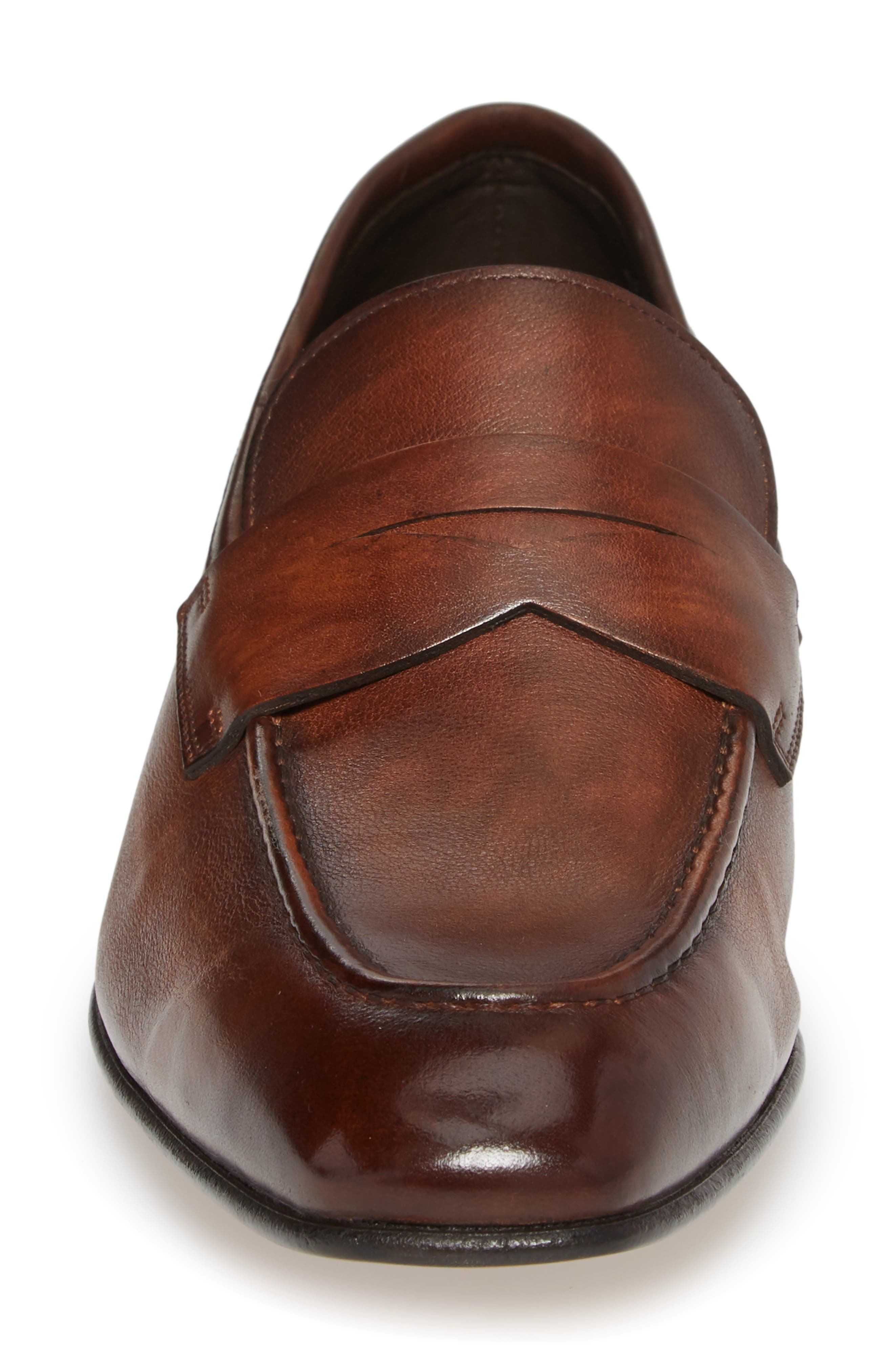 Gannon Penny Loafer,                             Alternate thumbnail 4, color,                             TAN