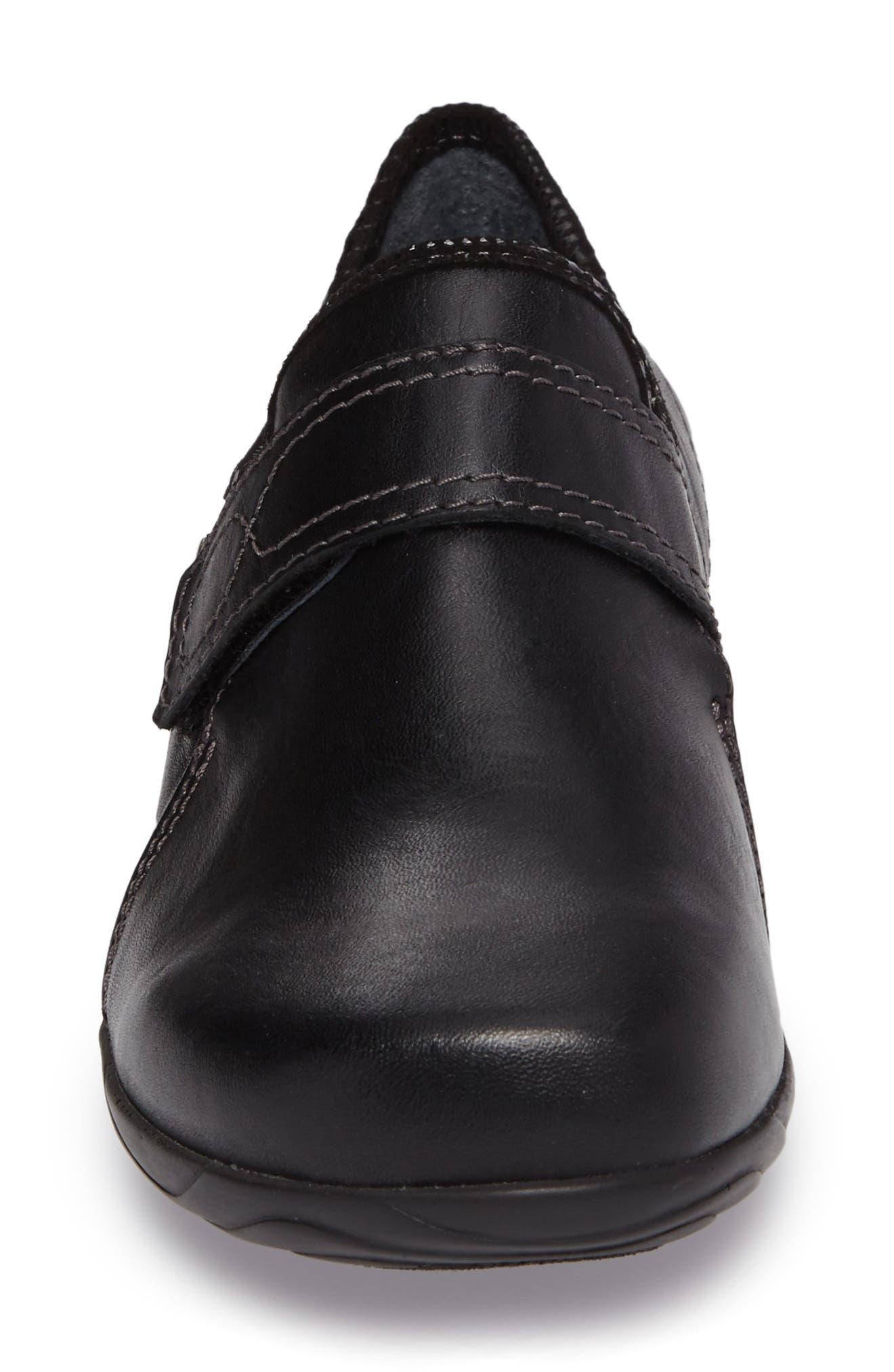 Desna Slip-On Sneaker,                             Alternate thumbnail 4, color,                             001