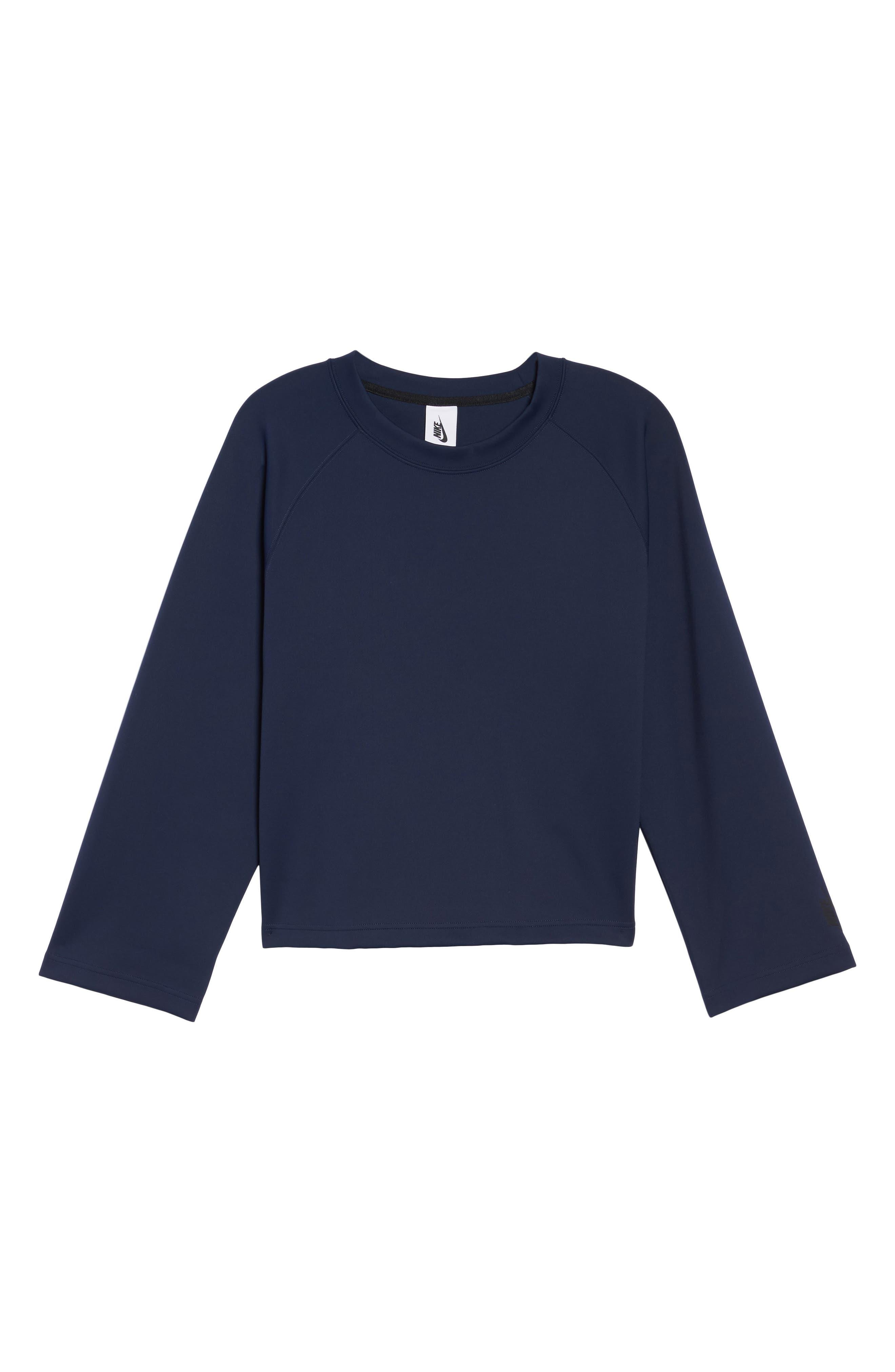 NikeLab Essentials Women's Fleece Top,                             Alternate thumbnail 13, color,