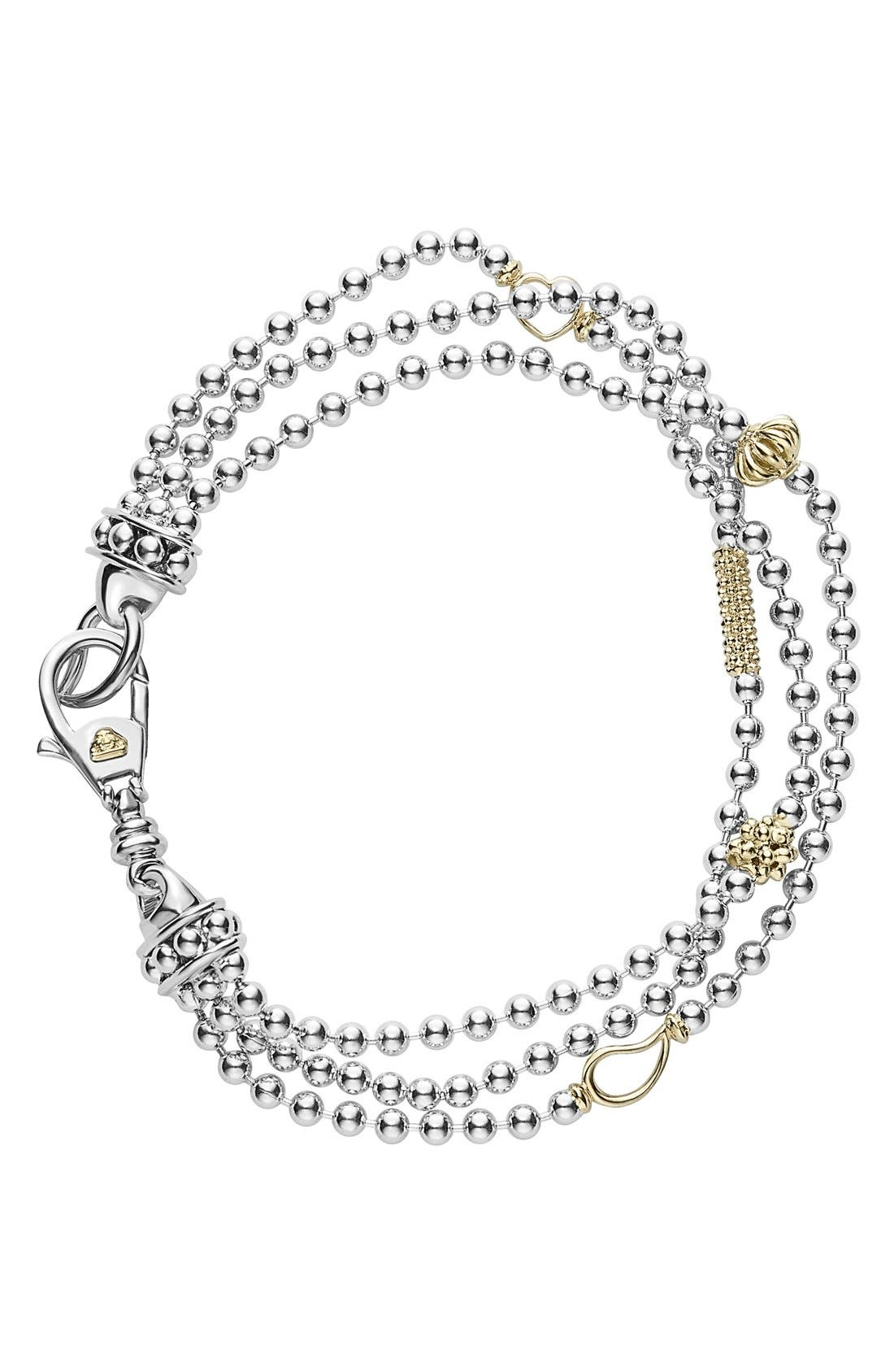'Caviar Icon' Multistrand Bracelet,                         Main,                         color, 040