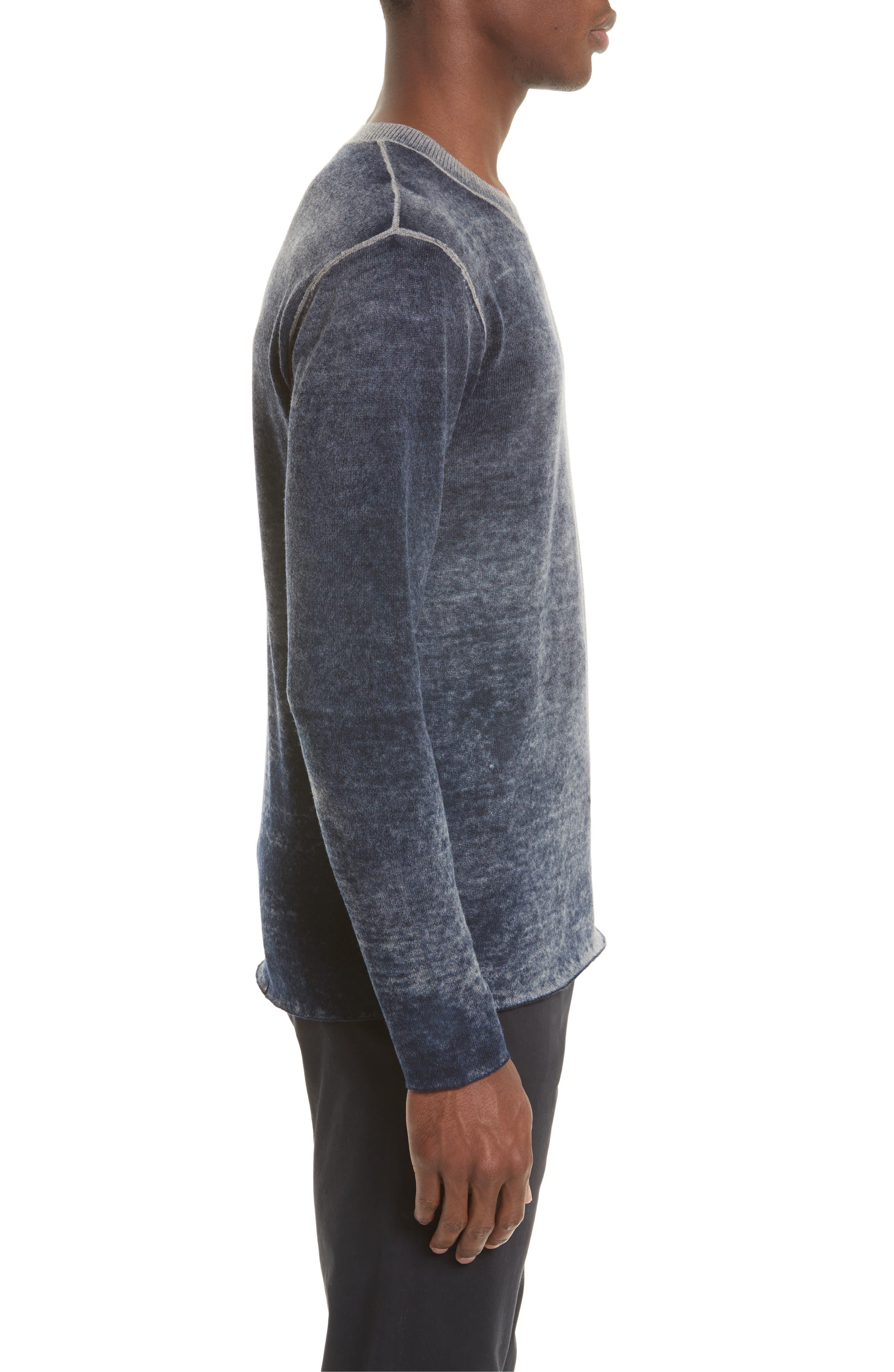 Acid Wash Sweater,                             Alternate thumbnail 3, color,                             410