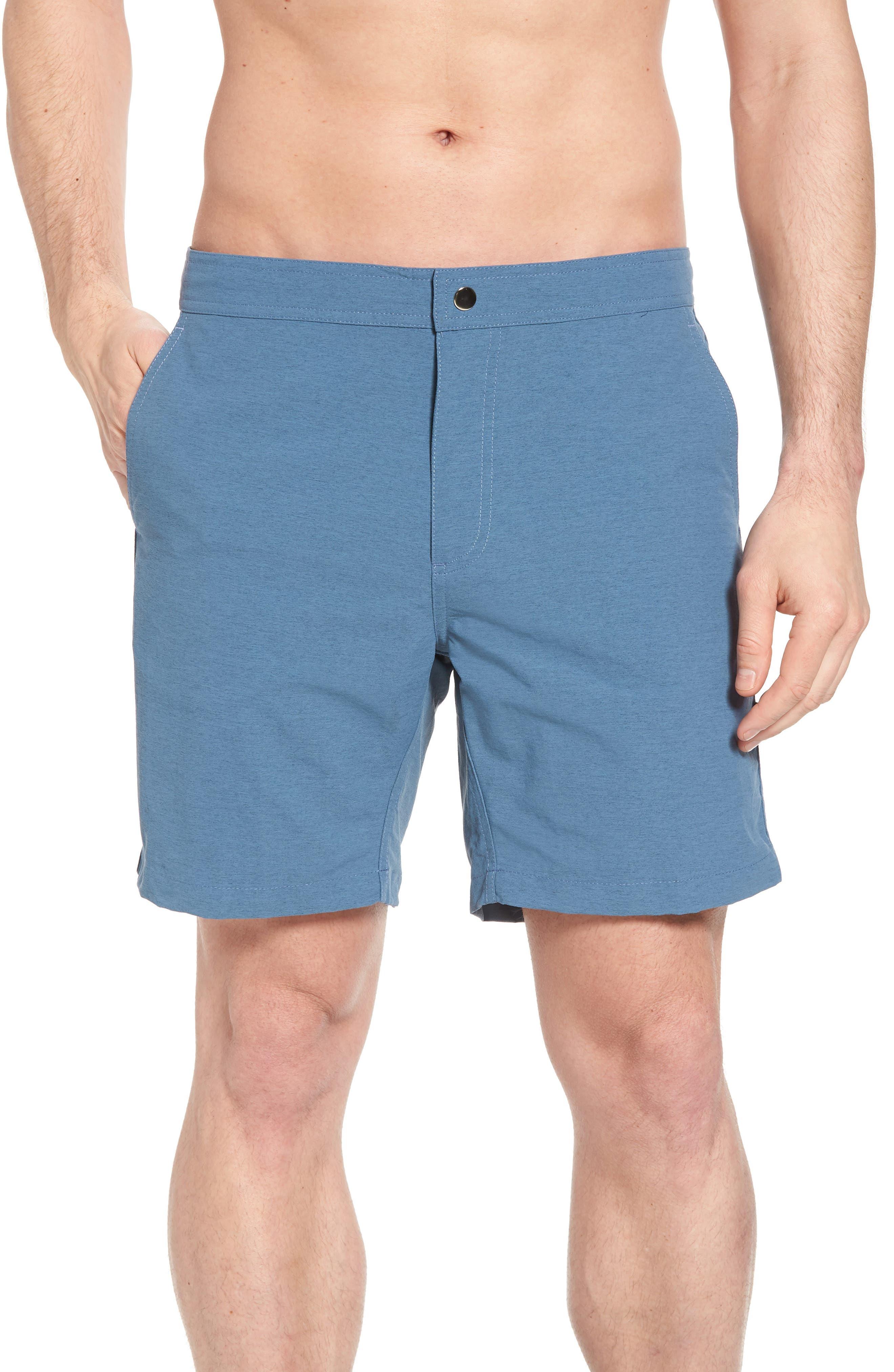 Bond Hybrid Shorts,                             Main thumbnail 1, color,                             TIDAL BLUE