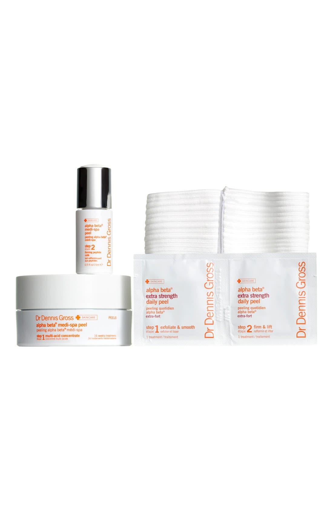 DR. DENNIS GROSS SKINCARE,                             Radiance Peel Ritual Collection,                             Main thumbnail 1, color,                             000