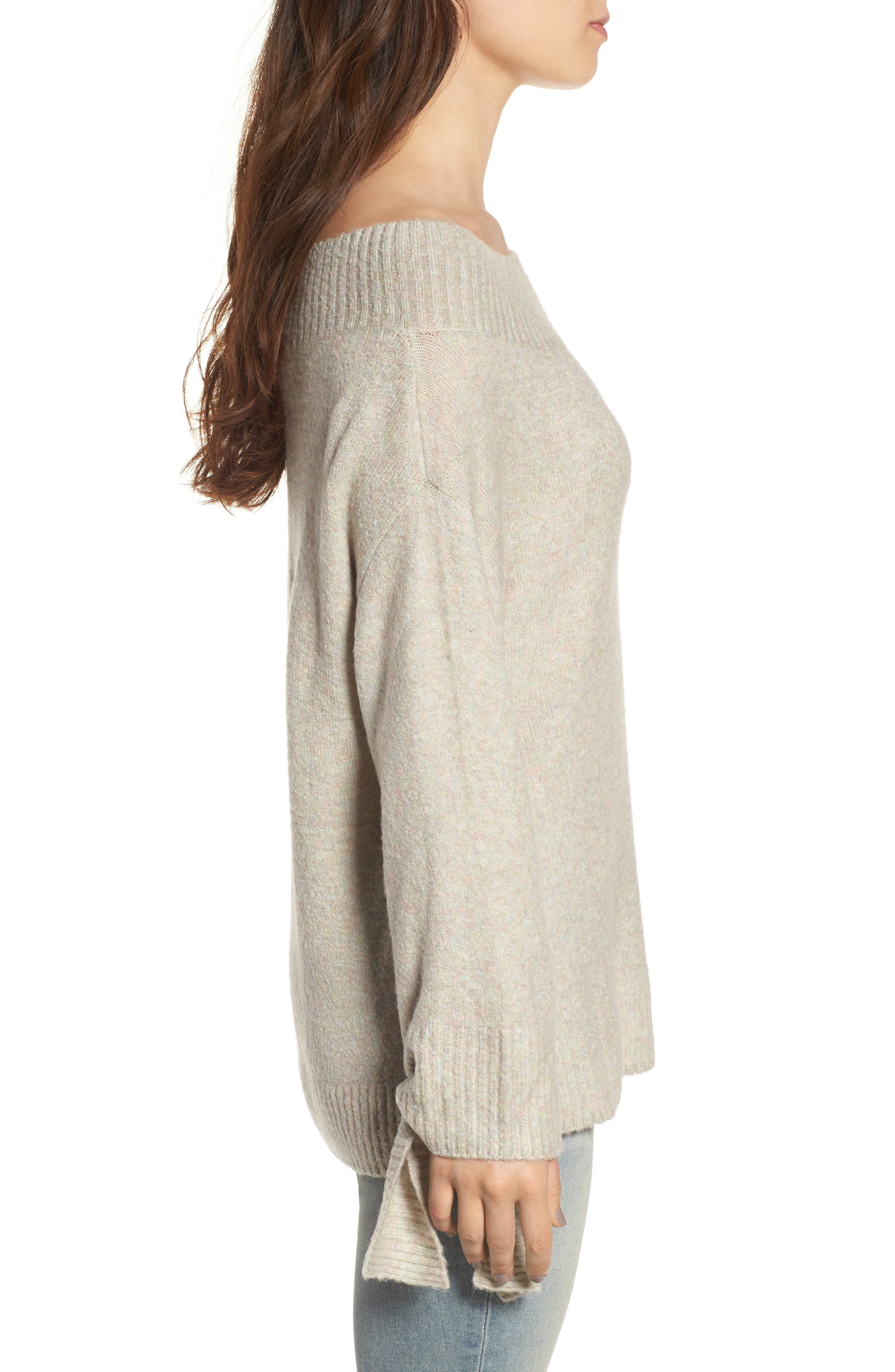 Off the Shoulder Sweater,                             Alternate thumbnail 11, color,
