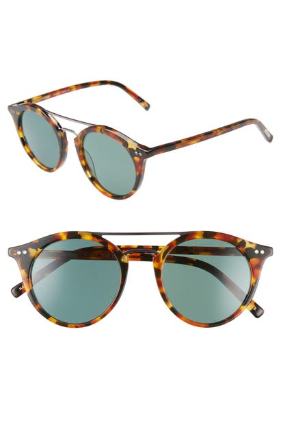 Eyebobs Sunglasses PUTTER 48MM POLARIZED ROUND SUNGLASSES - TORTOISE