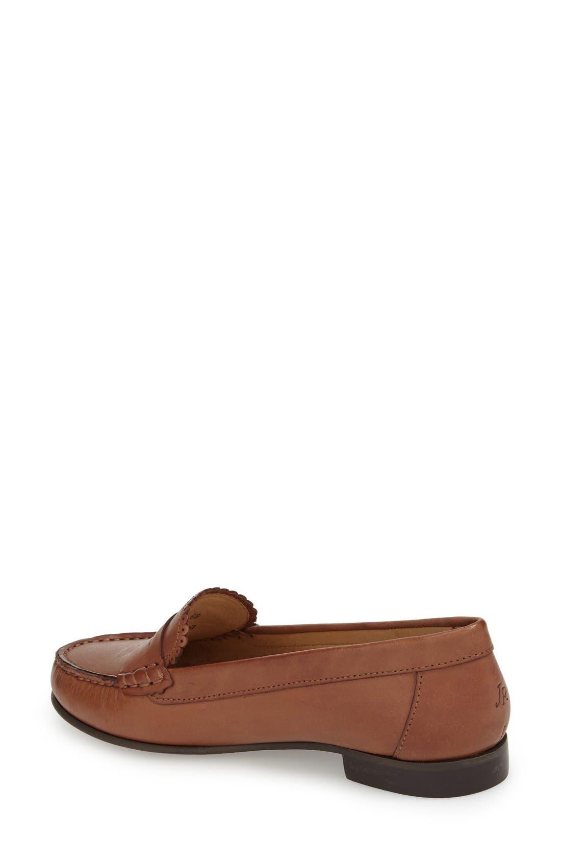 'Quinn' Leather Loafer,                             Alternate thumbnail 10, color,
