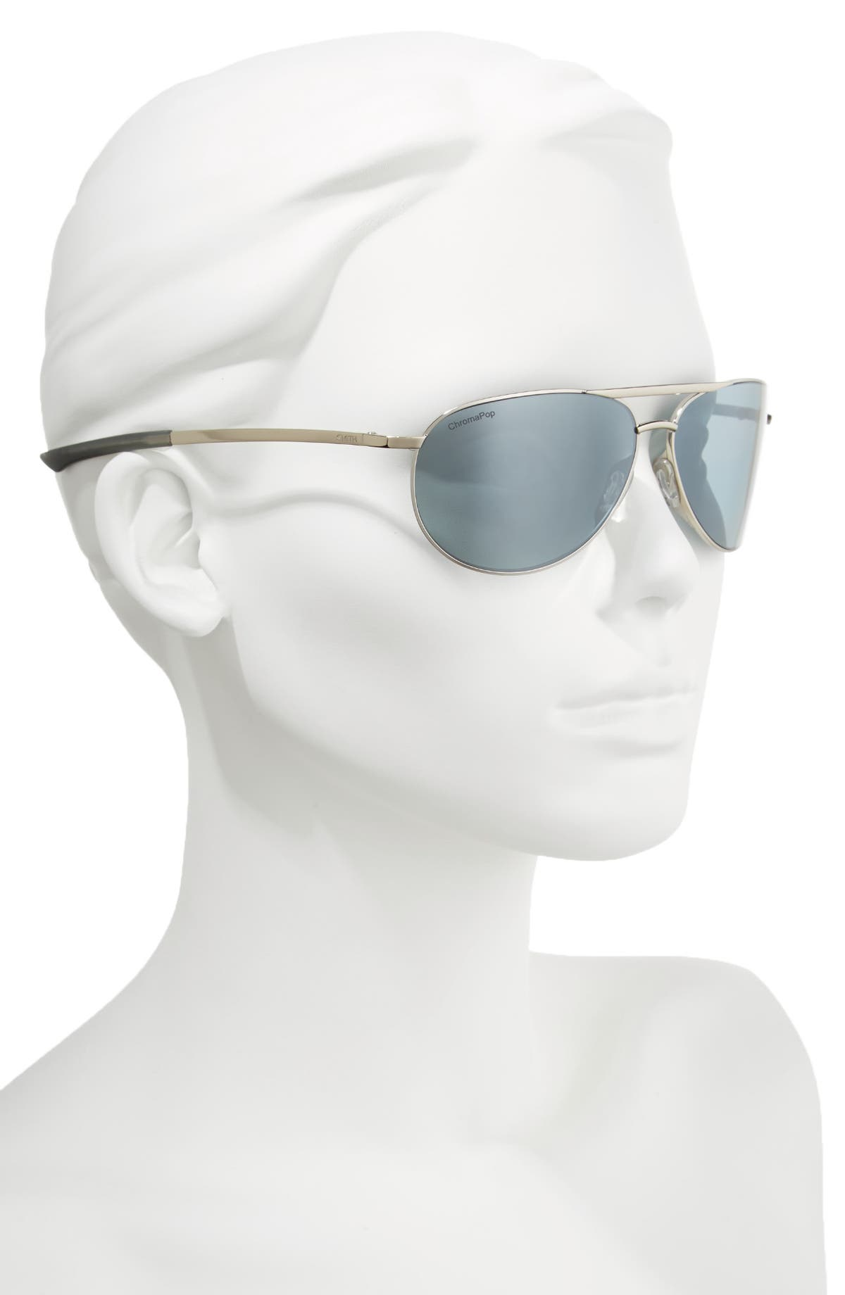 afe7643d24b Smith Serpico Slim 2.0 60mm ChromaPop Polarized Aviator Sunglasses ...