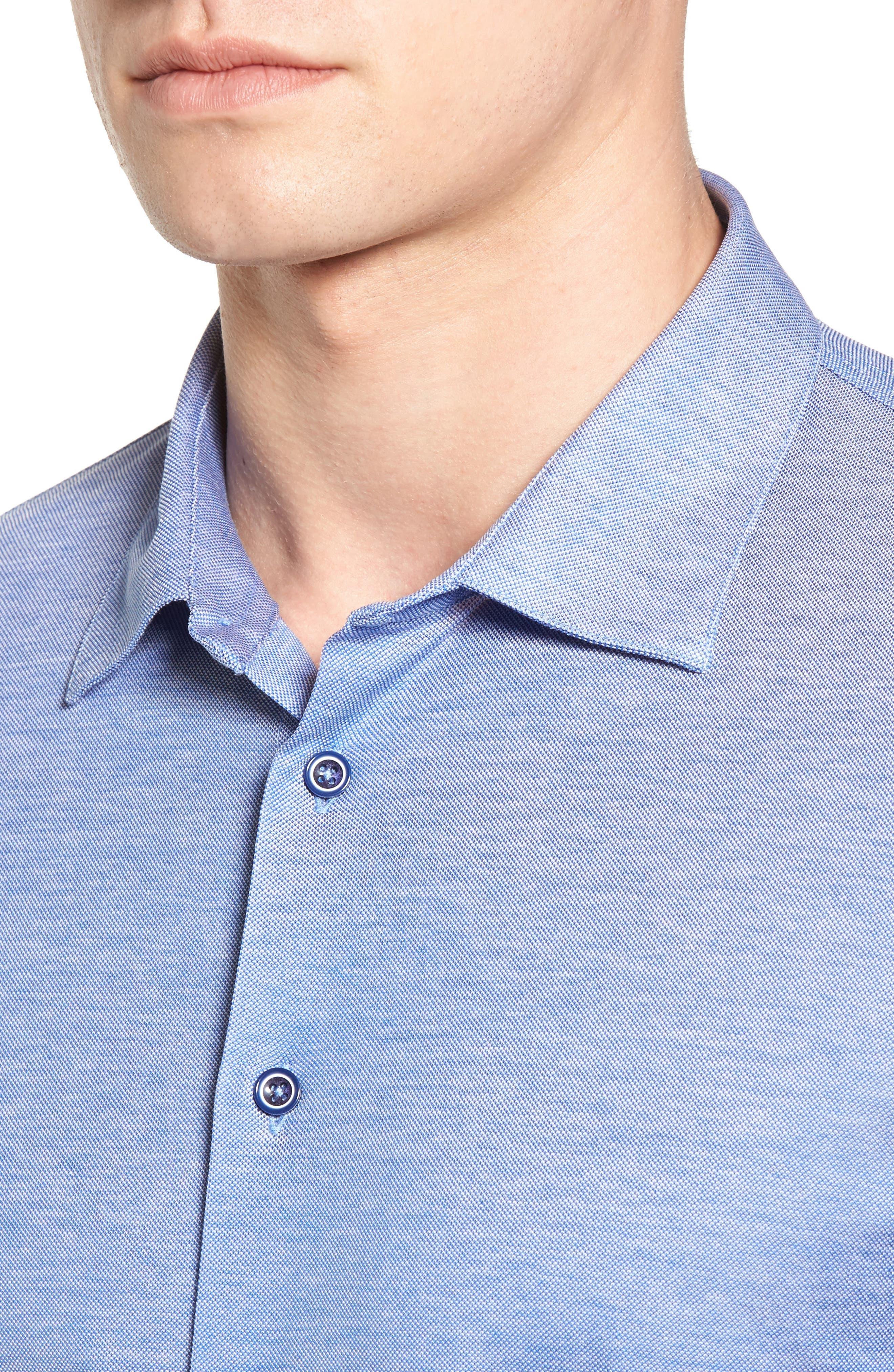 Knit Sport Shirt,                             Alternate thumbnail 4, color,