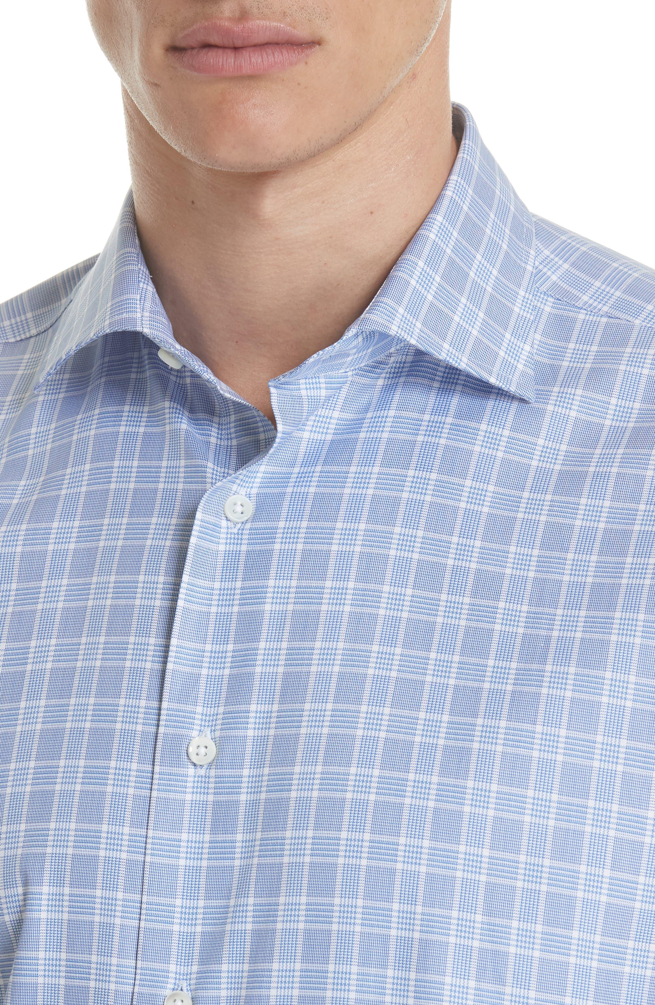 Regular Fit Check Dress Shirt,                             Alternate thumbnail 2, color,