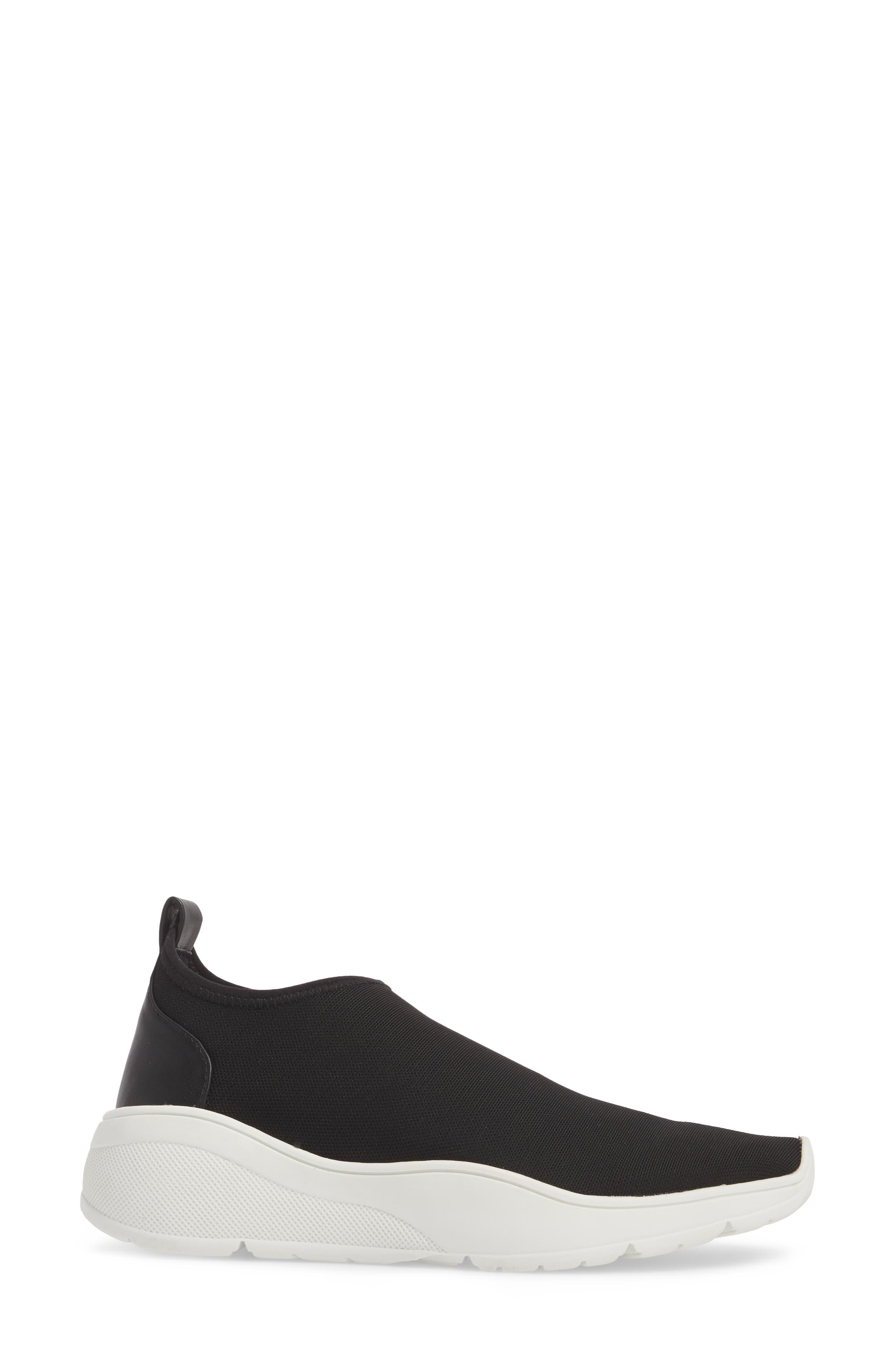 Floren Slip-On Sneaker,                             Alternate thumbnail 3, color,                             001