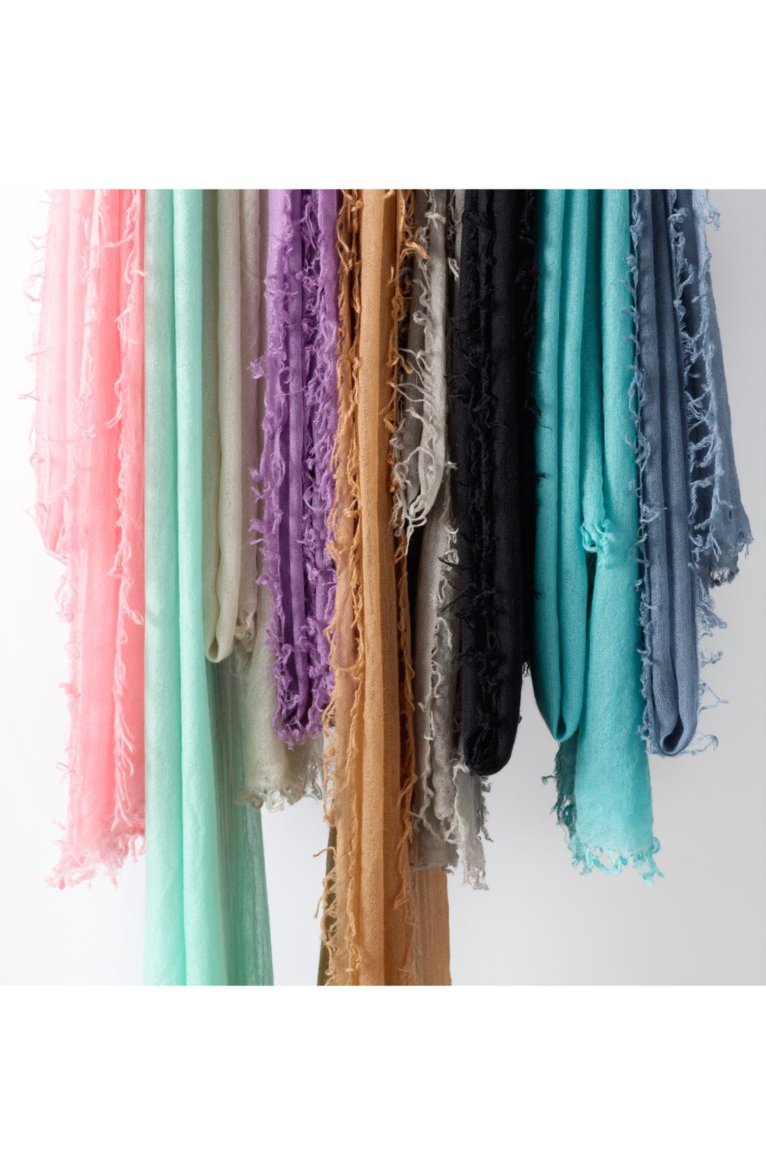 Halogen<sup>®</sup> Crinkled Cashmere Wrap, Main, color, 401