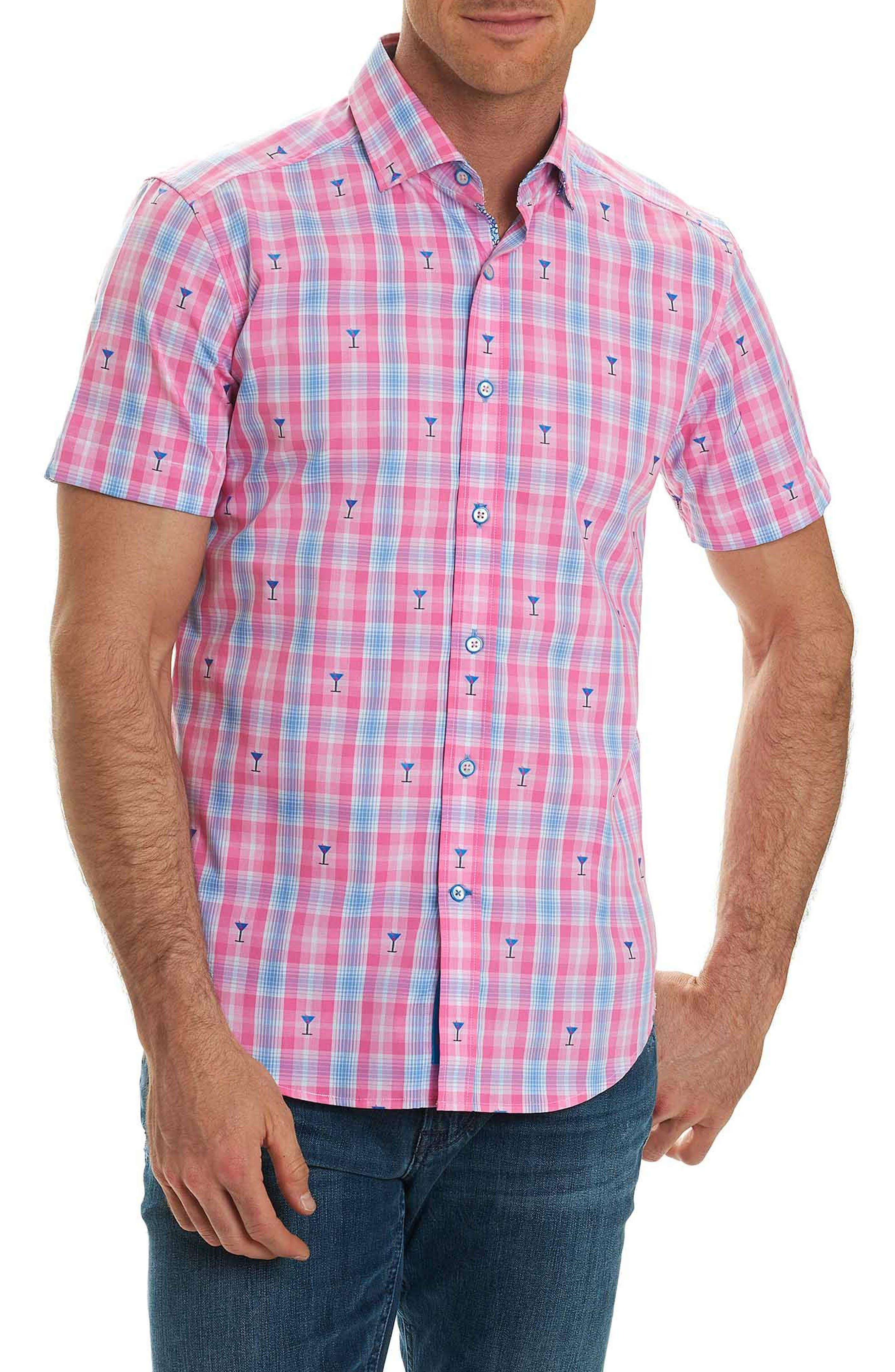 Chancellor Martini Plaid Sport Shirt,                         Main,                         color, 650