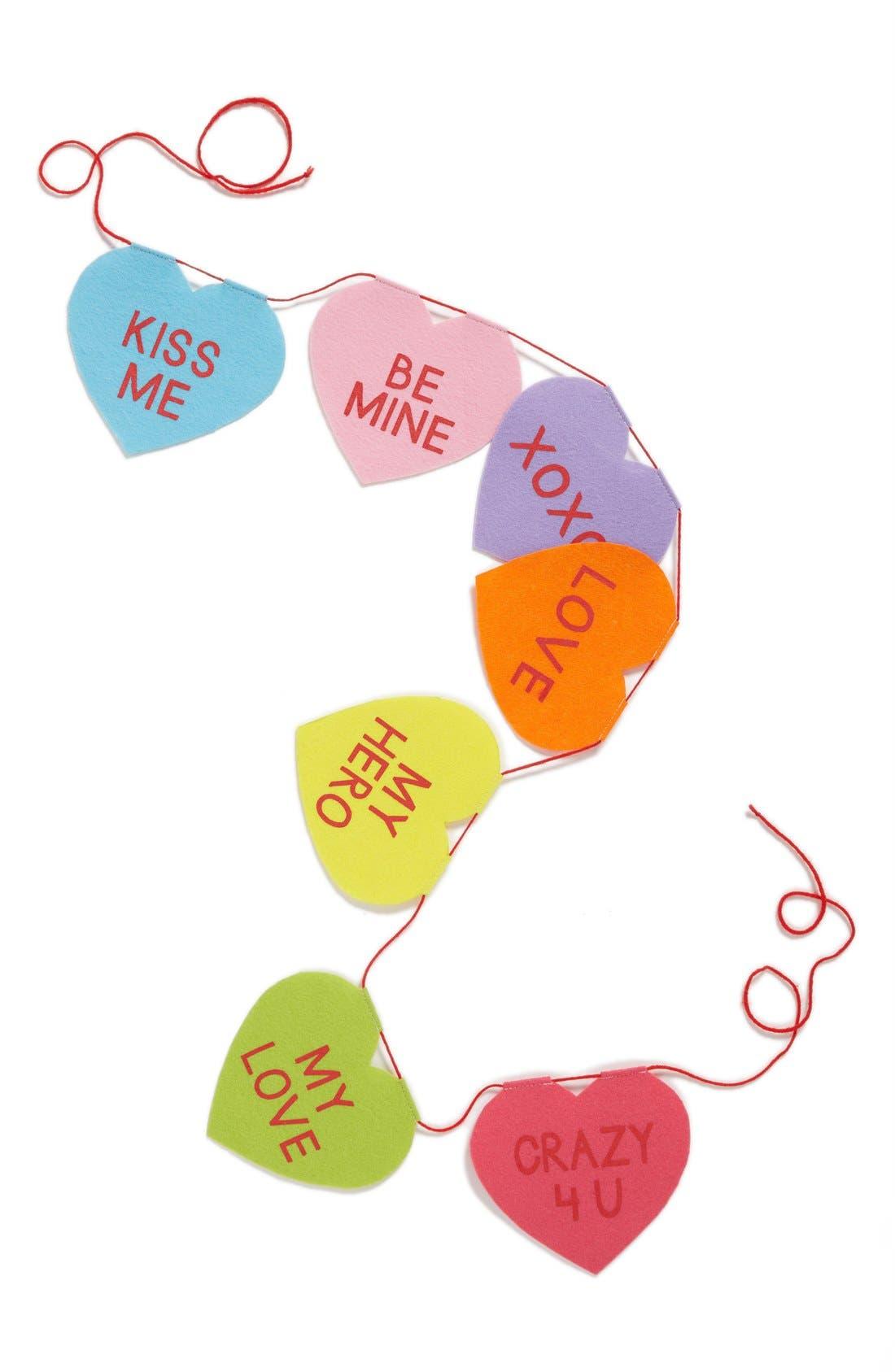 'Candy Hearts' Banner,                             Main thumbnail 1, color,                             600