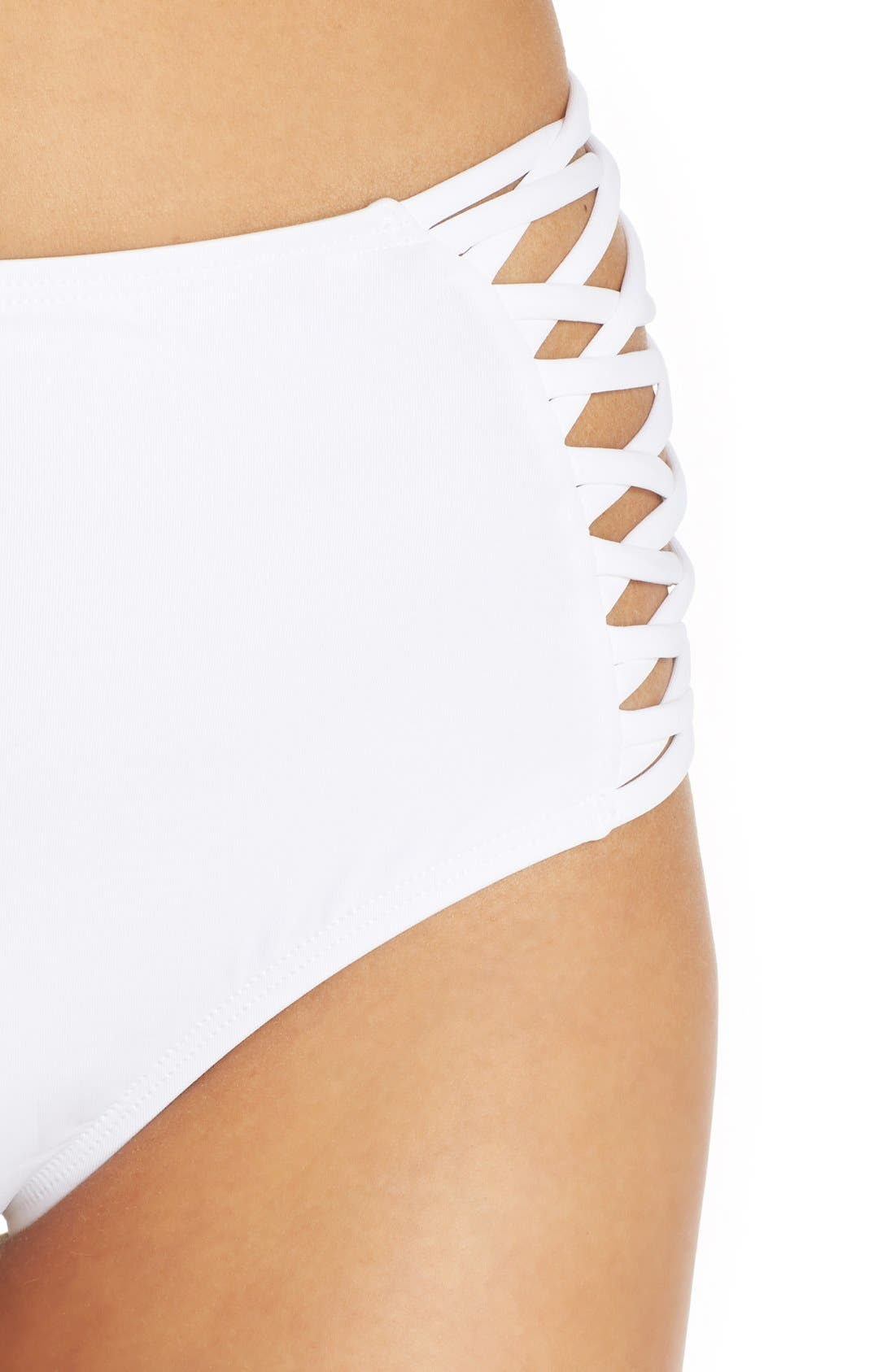 Tigress Classic High Waist Bikini Bottoms,                             Alternate thumbnail 11, color,