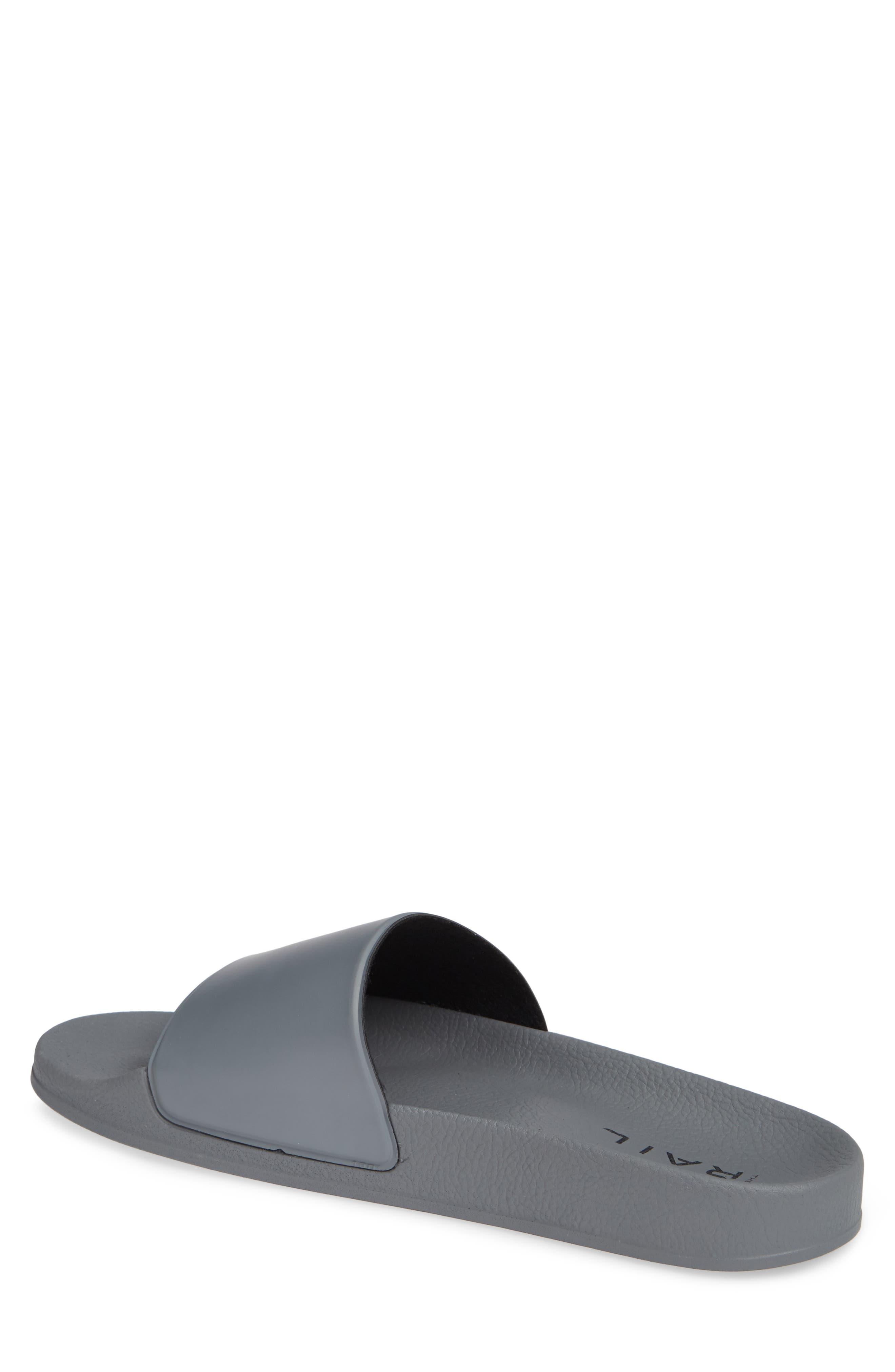 Bondi Slide Sandal,                             Alternate thumbnail 2, color,                             GREY
