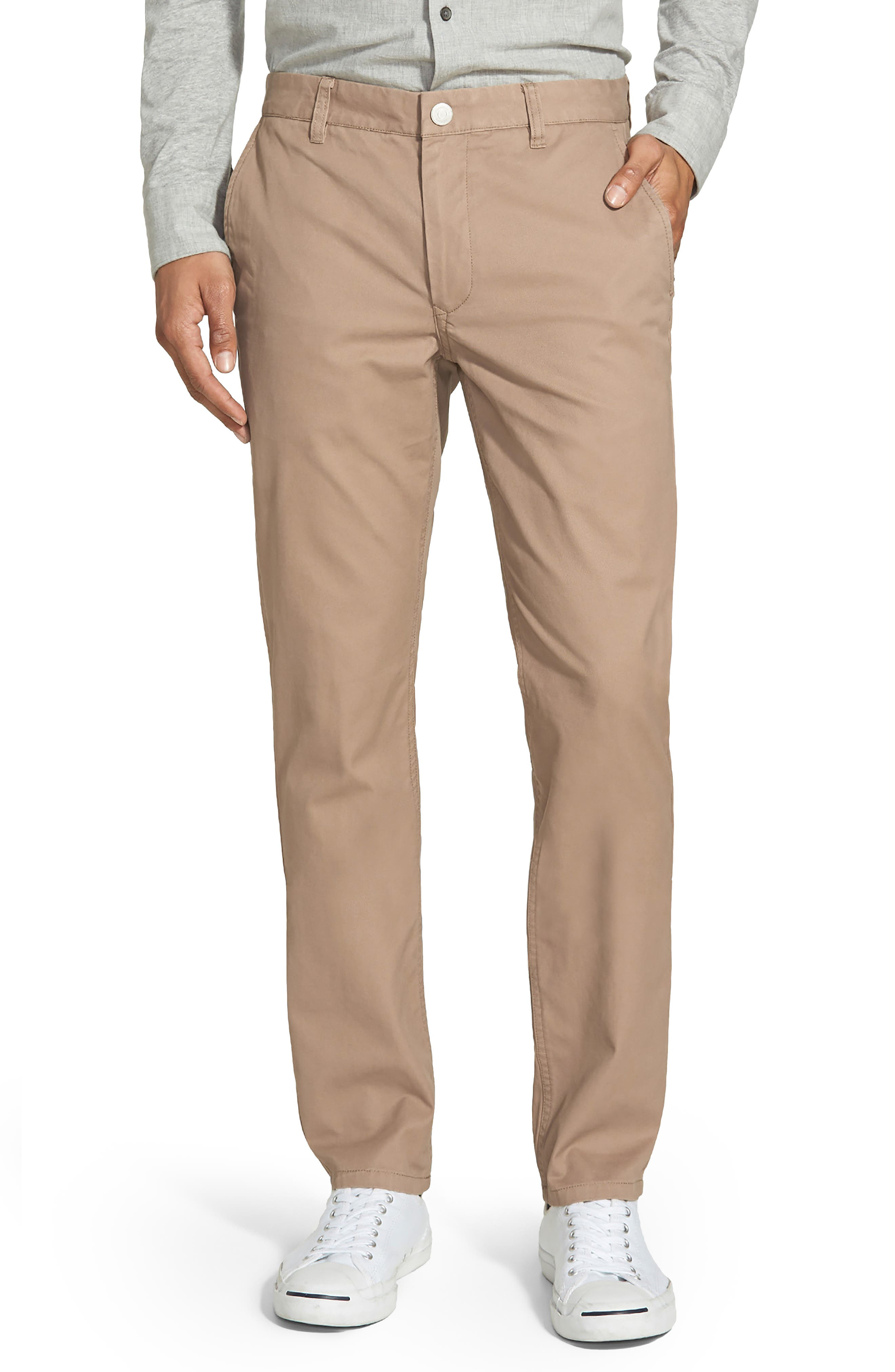 Tailored Fit Washed Chinos,                             Alternate thumbnail 4, color,                             250
