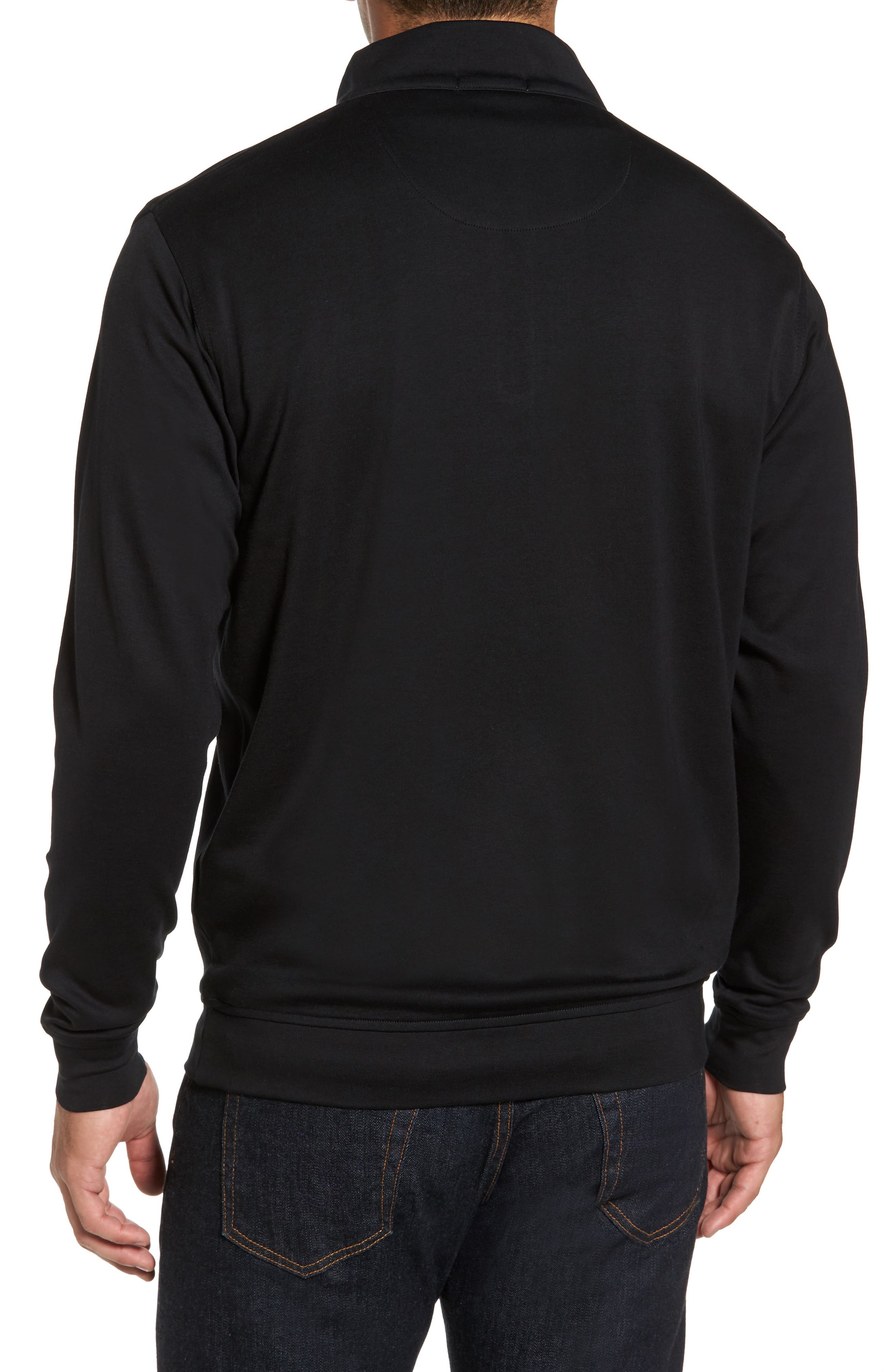 Quarter Zip Pullover,                             Alternate thumbnail 2, color,                             001
