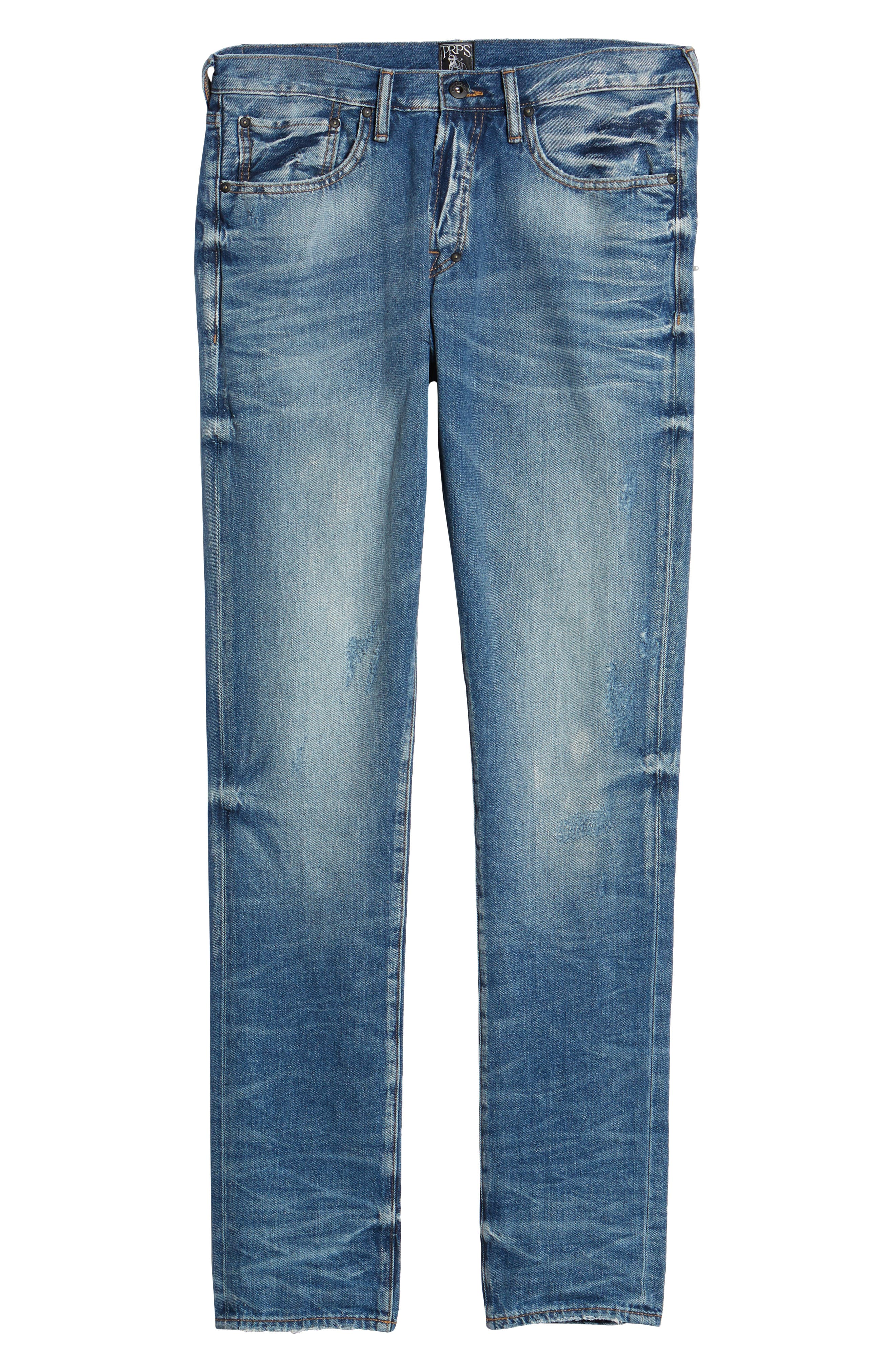 PRPS,                             Le Sabre Tapered Fit,                             Alternate thumbnail 6, color,                             5 YEAR WASH