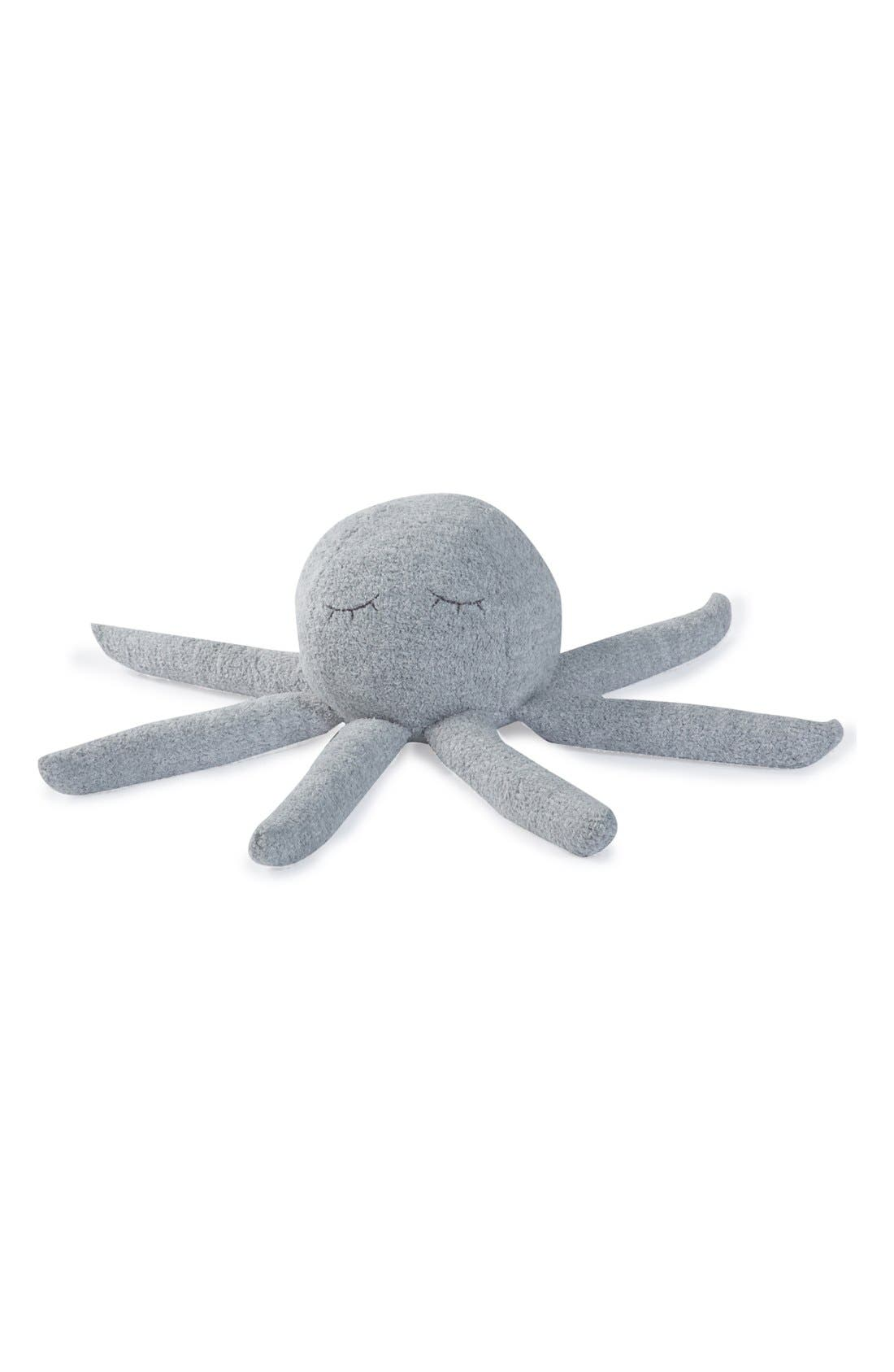 'CozyChic<sup>®</sup> Octopus Buddie' Plush Toy,                             Main thumbnail 1, color,                             OCEAN/WHITE