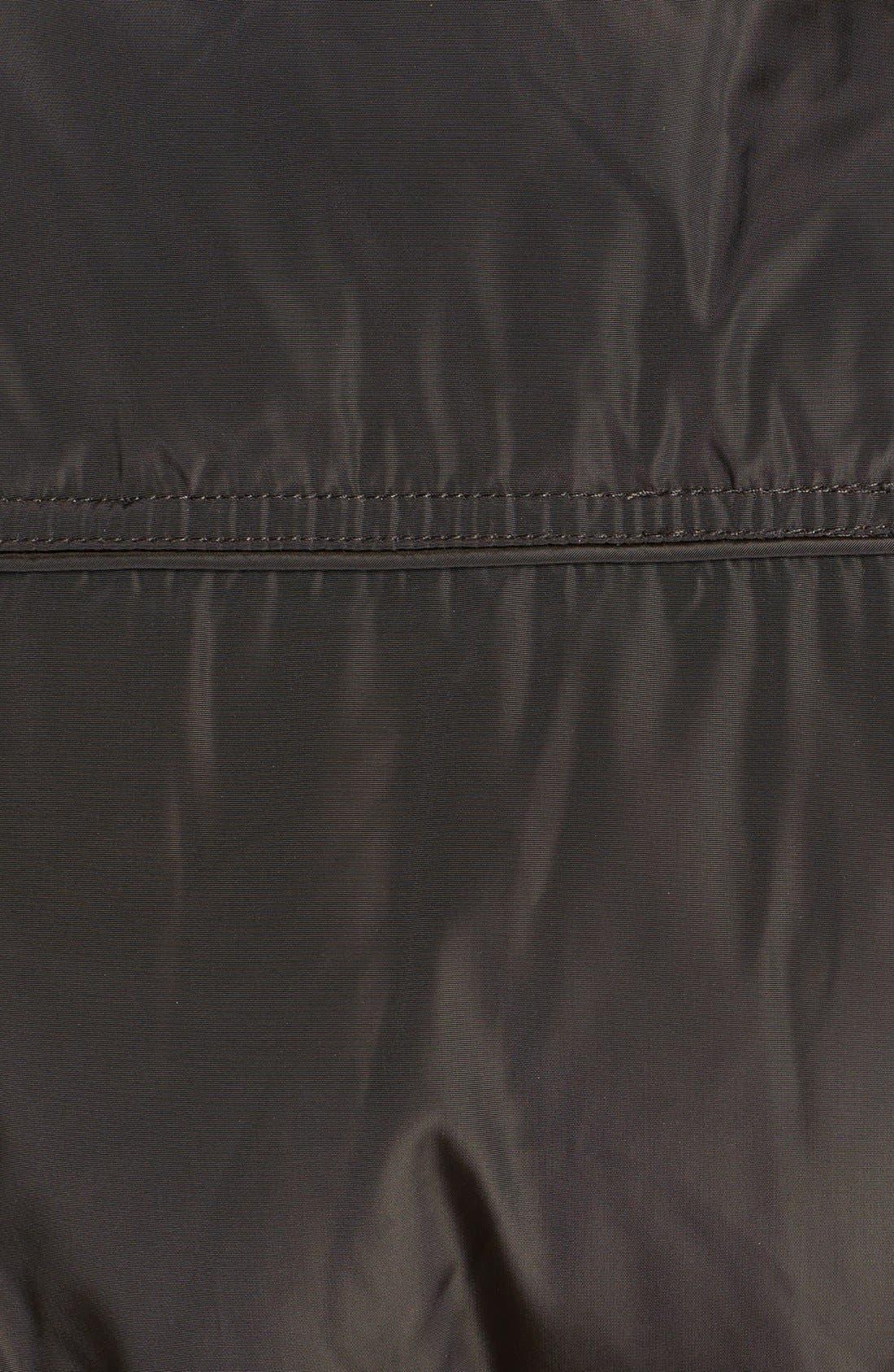 MICHAEL MICHAEL KORS,                             Faux Fur Trim Quilted Coat,                             Alternate thumbnail 3, color,                             233