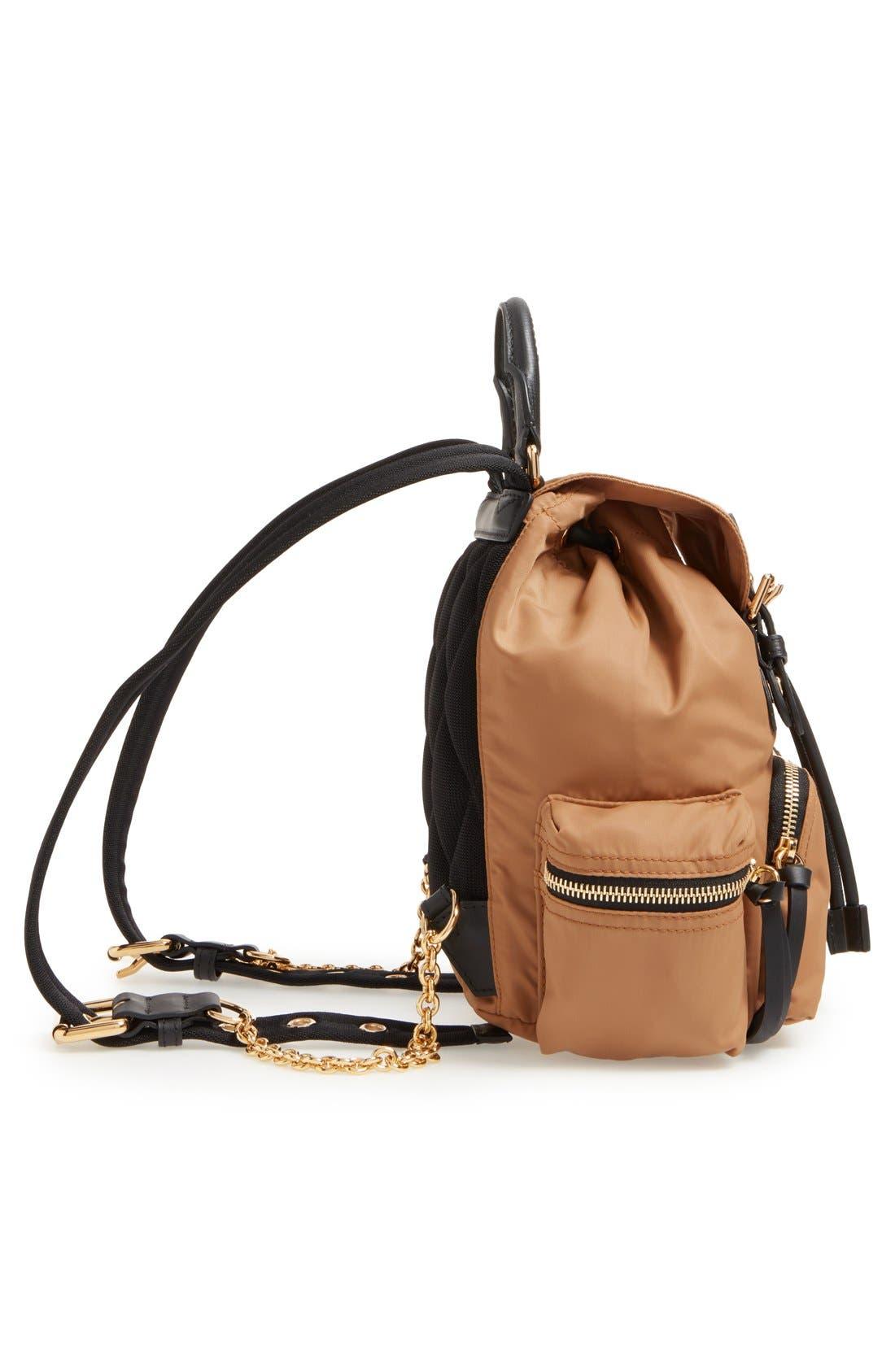 'Small Runway Rucksack' Nylon Backpack,                             Alternate thumbnail 5, color,                             272