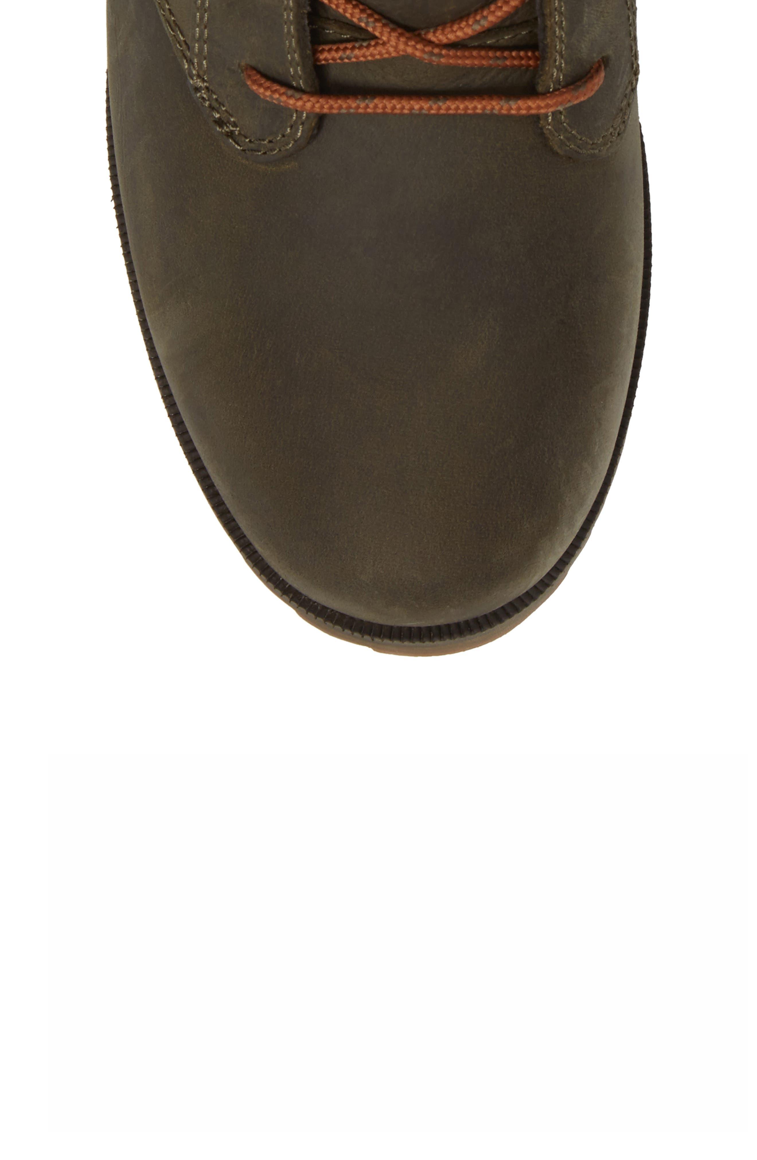 'De La Vina' Waterproof Lace-Up Boot,                             Alternate thumbnail 5, color,                             306