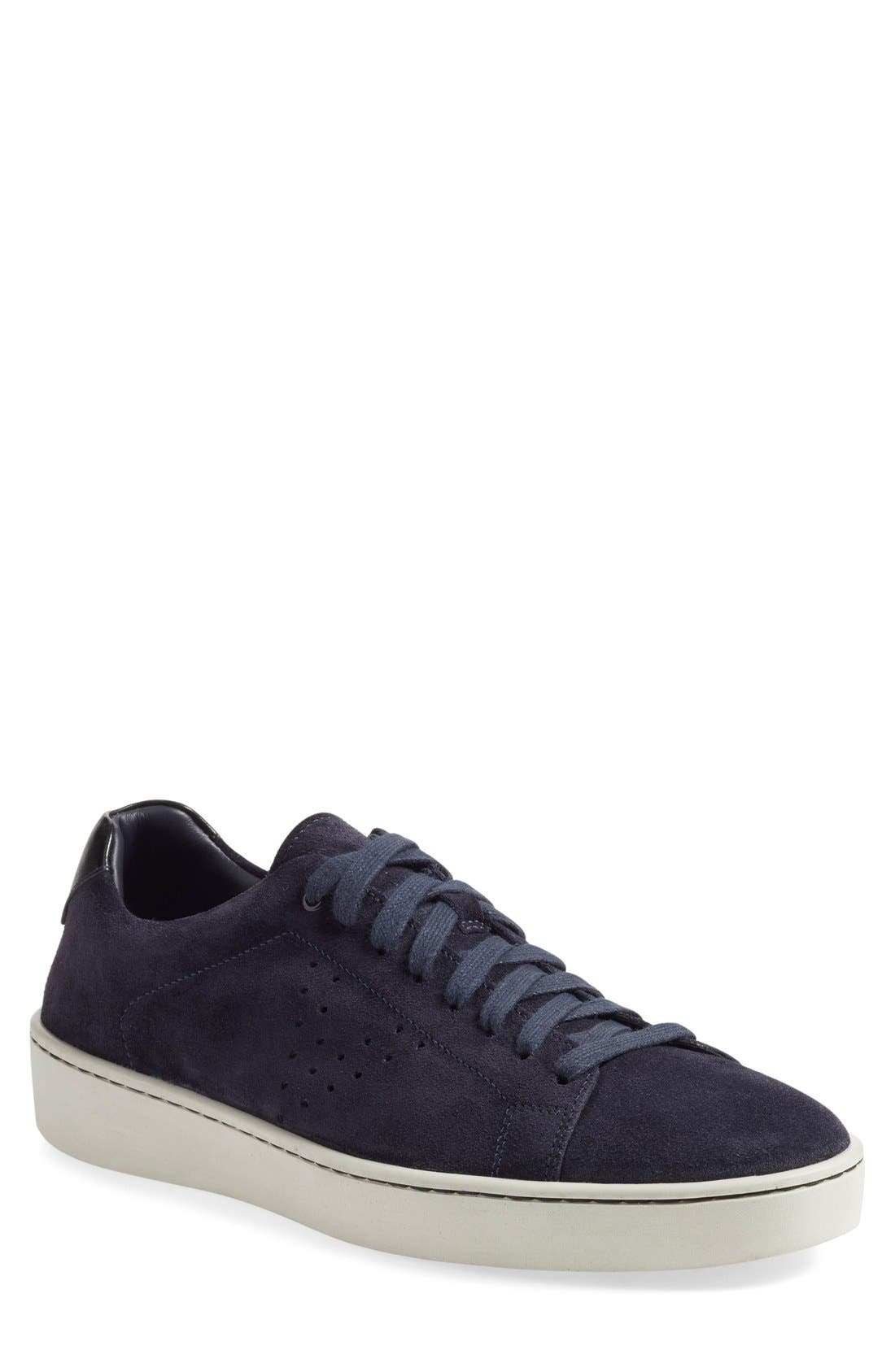 'Simon' Perforated Sneaker, Main, color, 407