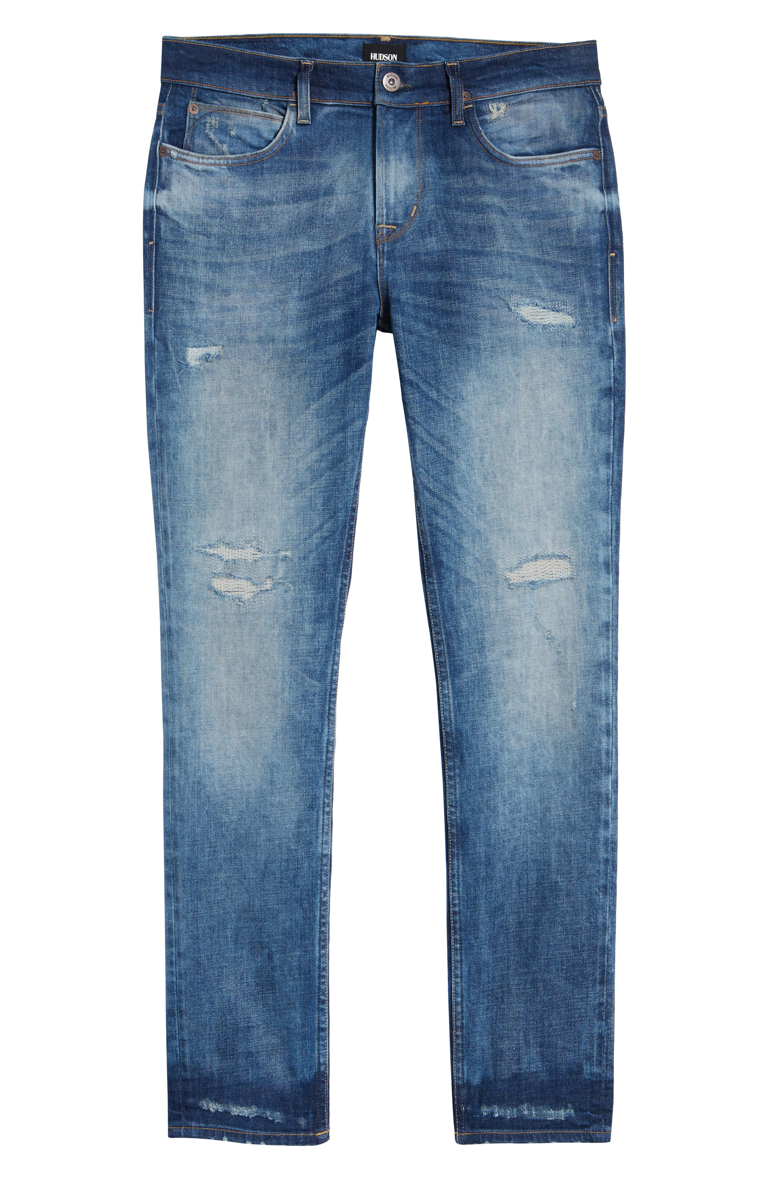 Axl Skinny Fit Jeans,                             Alternate thumbnail 6, color,                             RIDE OUT