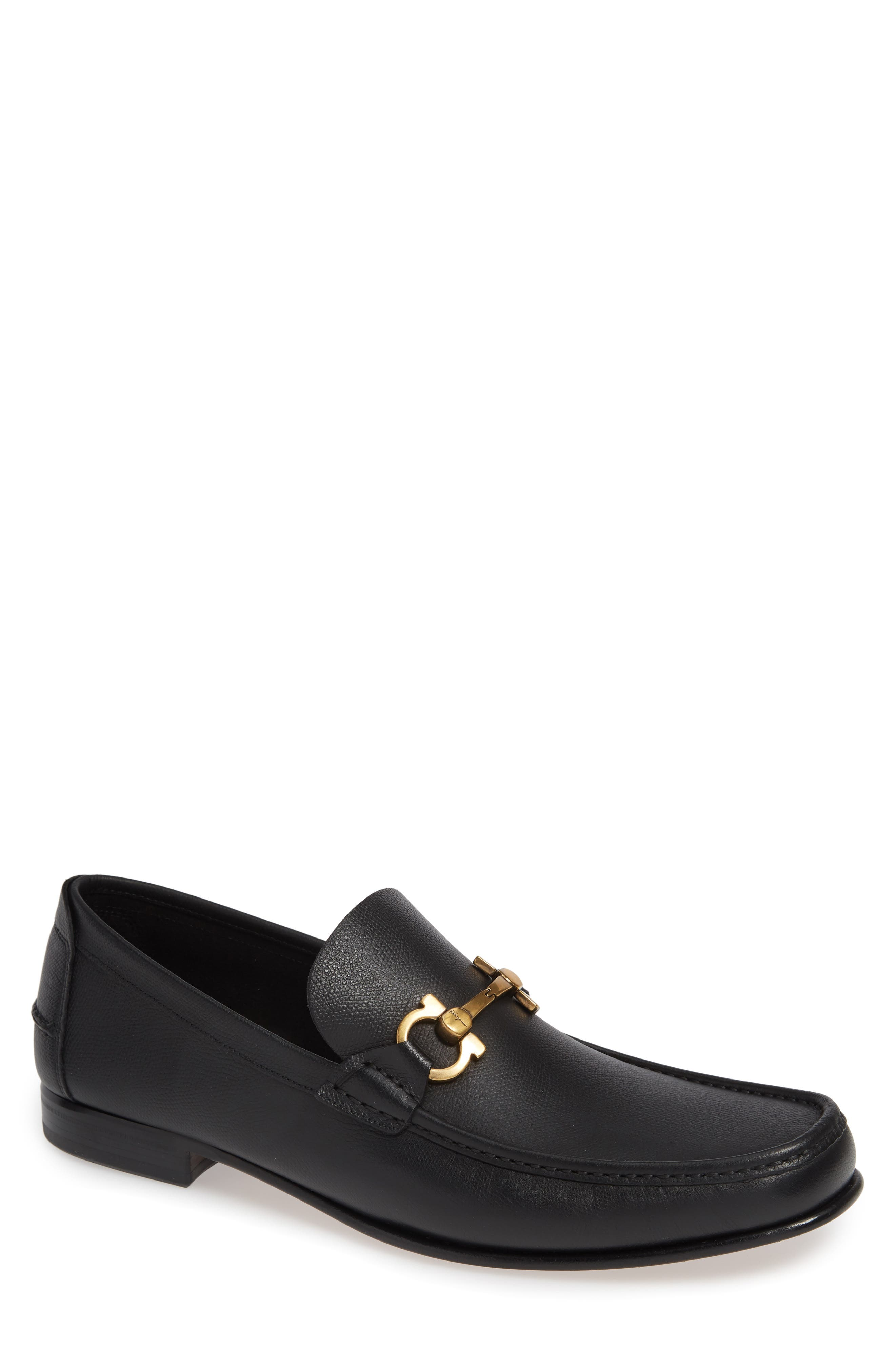 Fiordi Bit Loafer,                             Main thumbnail 1, color,                             NERO LEATHER