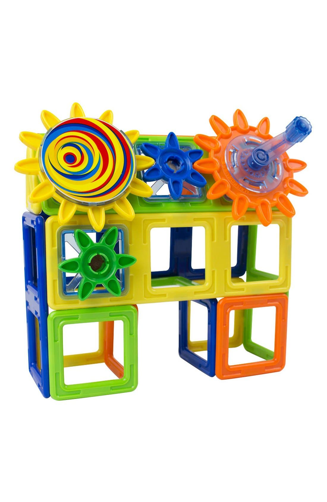 'Magnets in Motion' Magnetic 3D Construction Set,                             Alternate thumbnail 6, color,                             OPAQUE RAINBOW