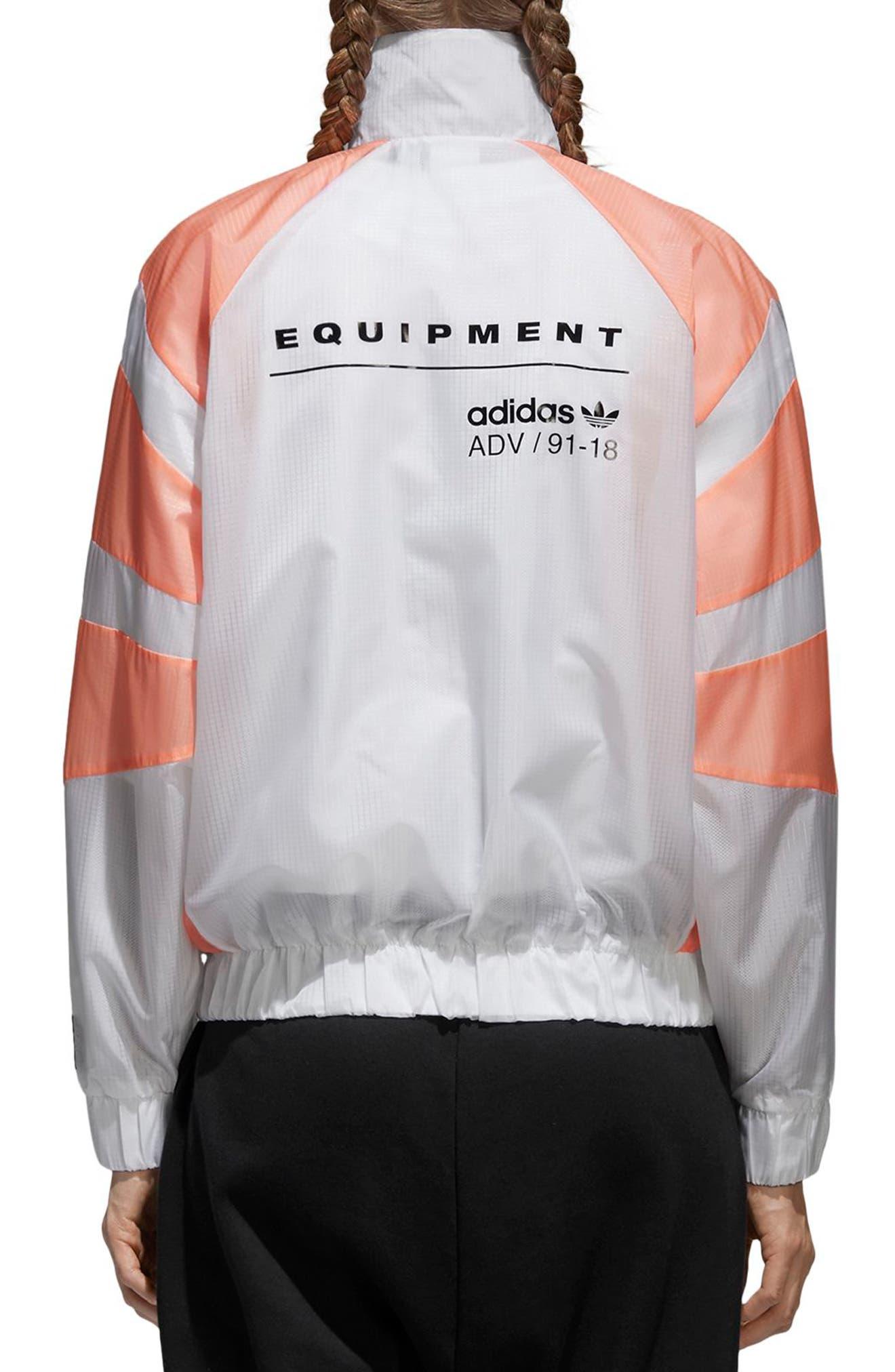 EQT Track Jacket,                             Alternate thumbnail 2, color,                             100